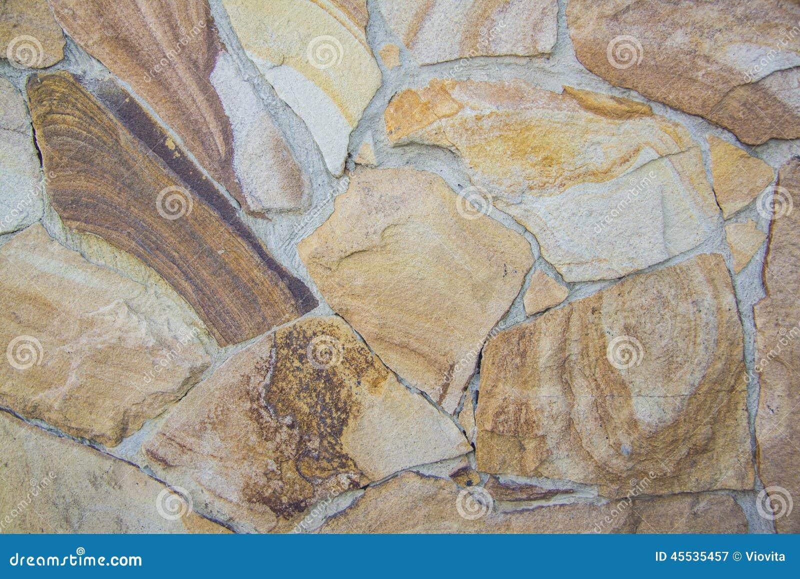 Kritisera tegelstenar för irregularen för textur för stenväggen