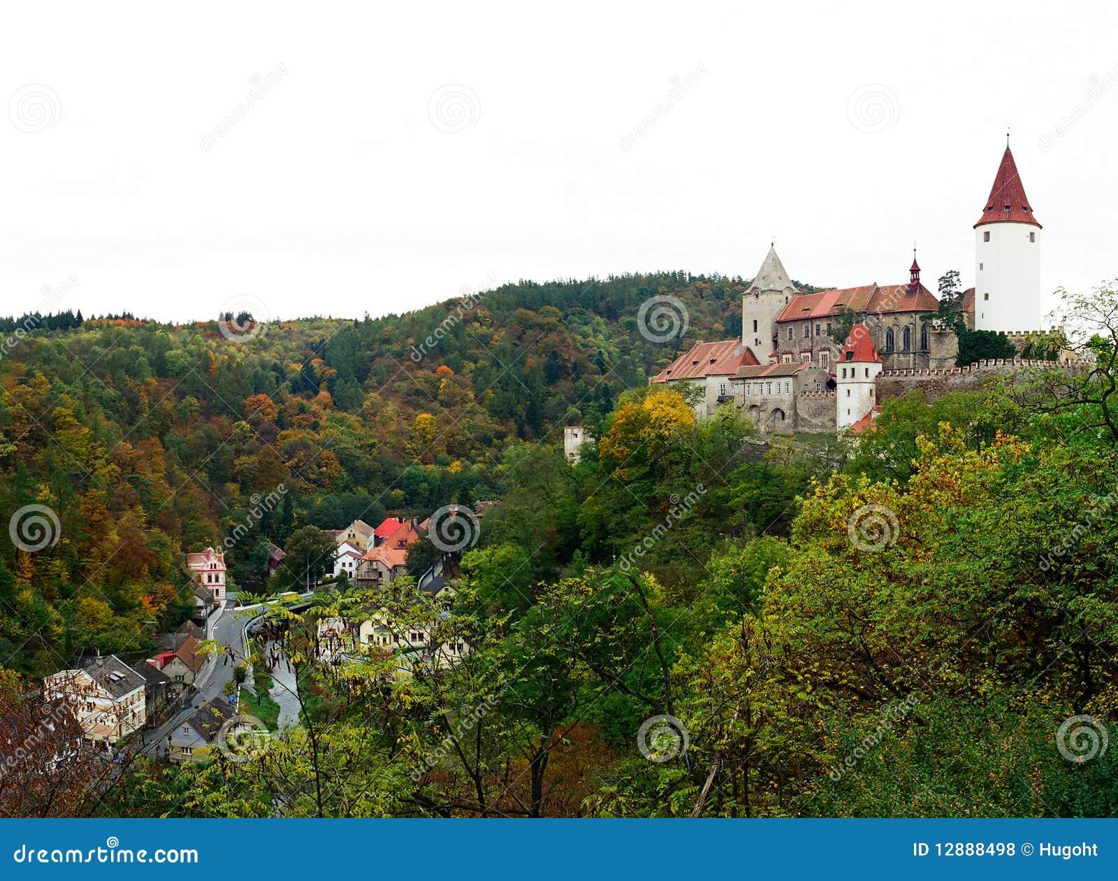 Krivoklat grodowa czeska republika