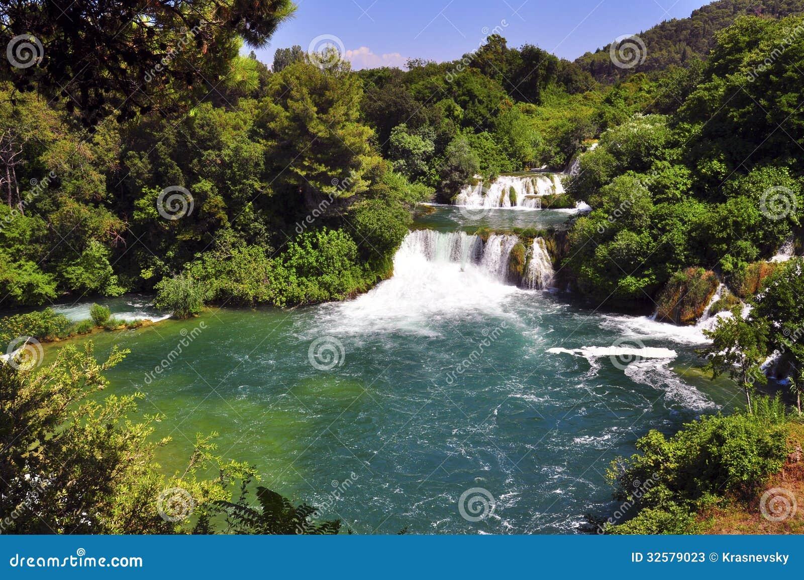 Krka siklawa i rzeka