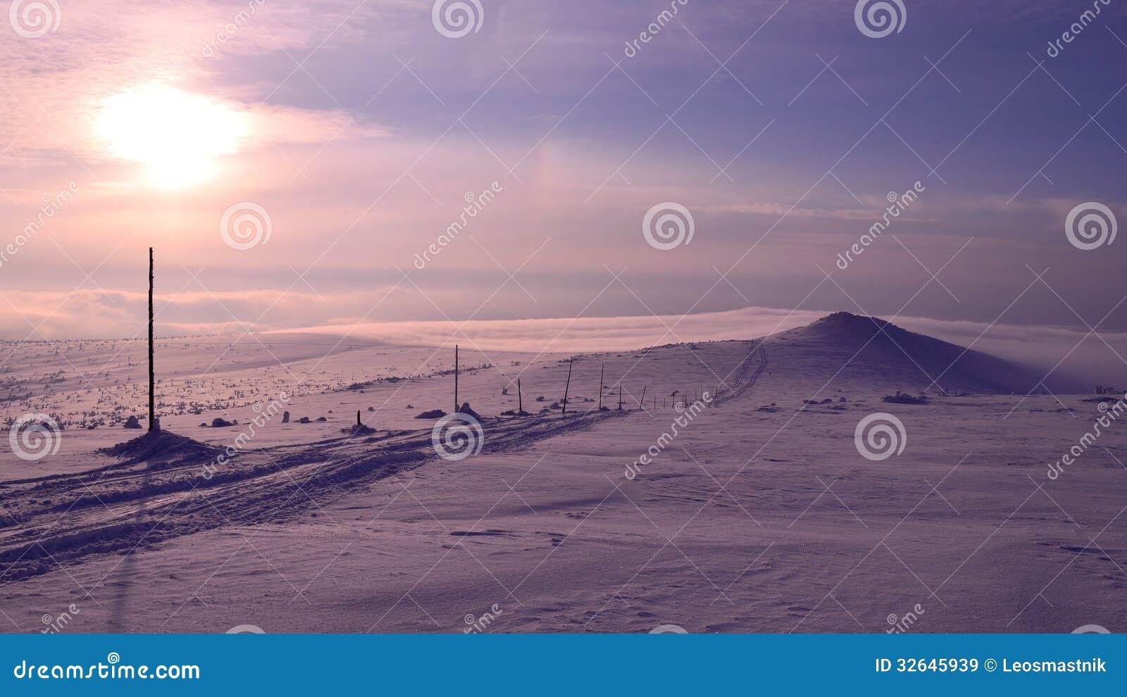 Krkonose в зиме
