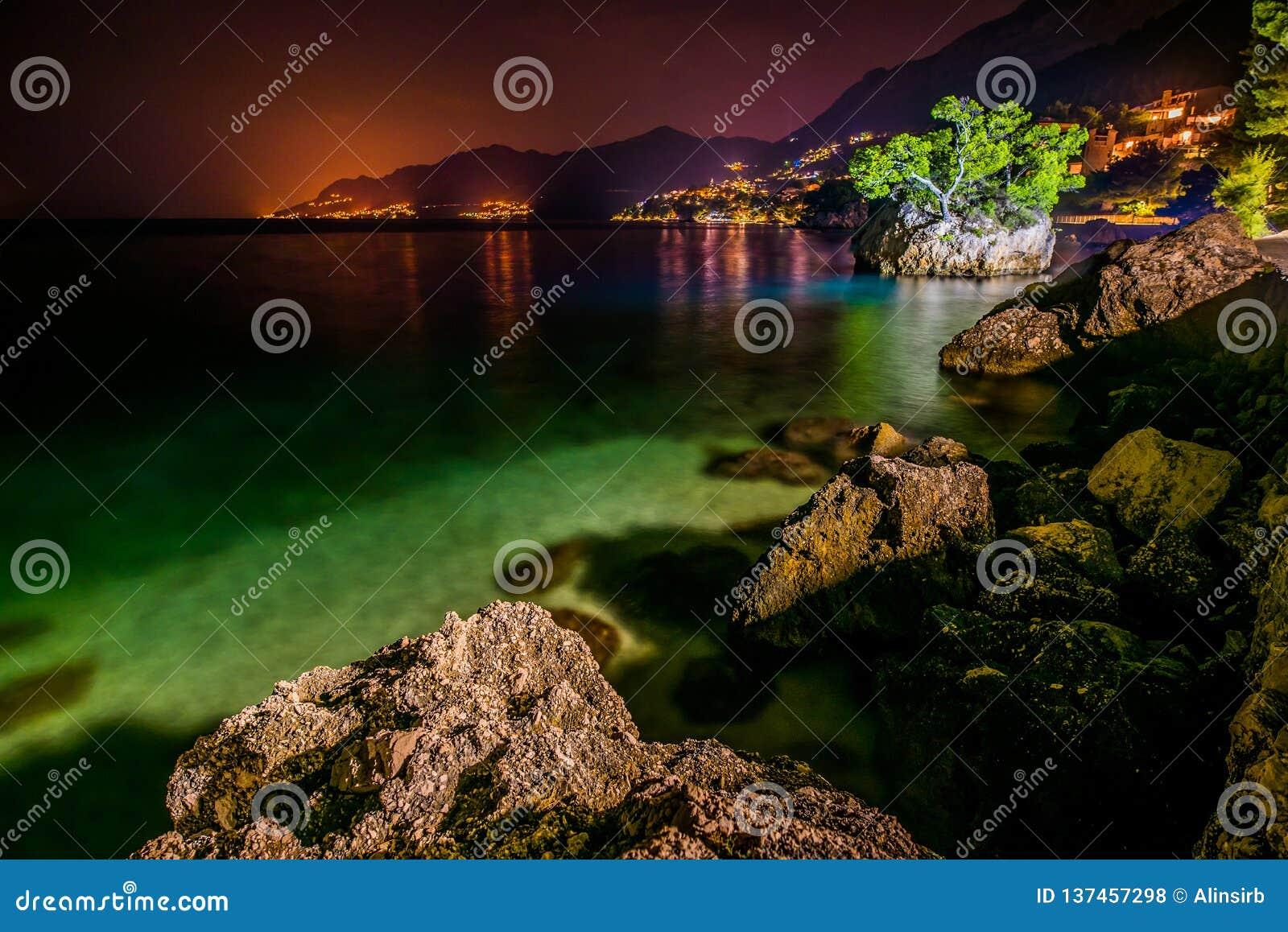 Kroatië is  s nachts verbazend