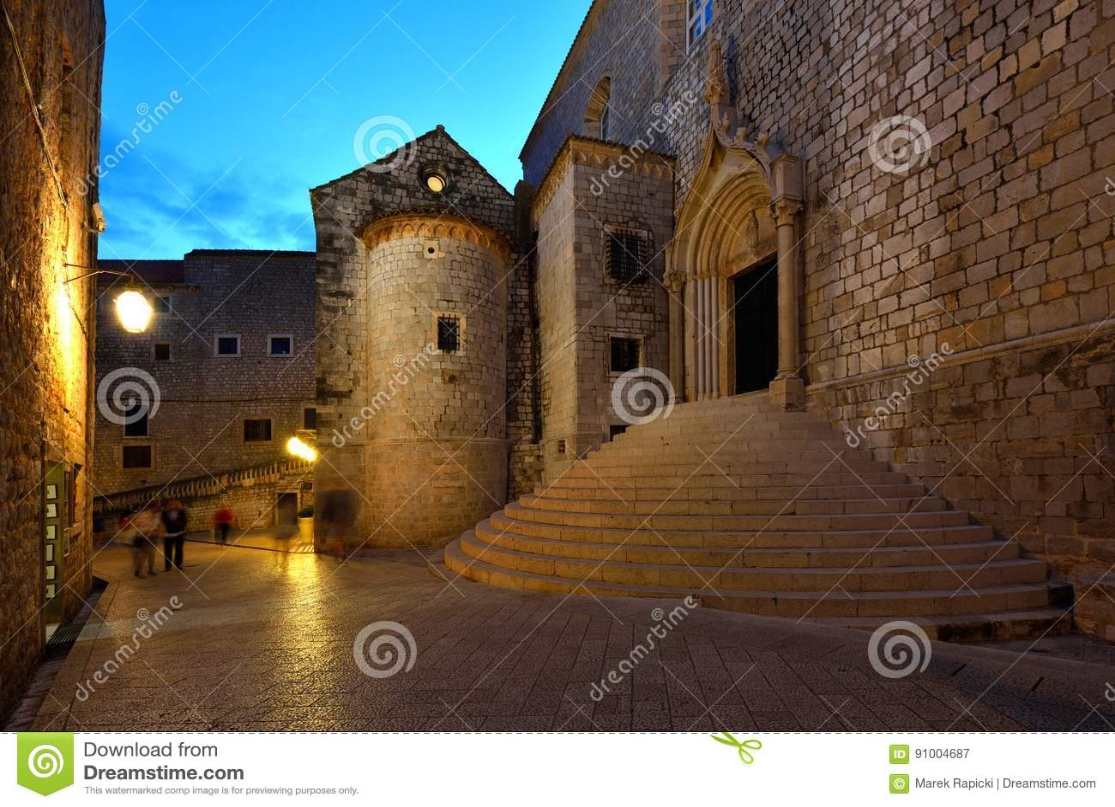 Kroatien, Dubrovnik, Umgebungen von Ploce-Tor
