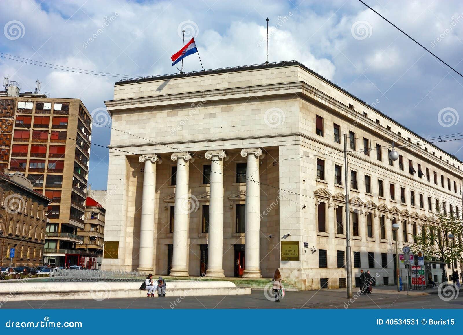 Kroatische Nationalbank, Zagreb