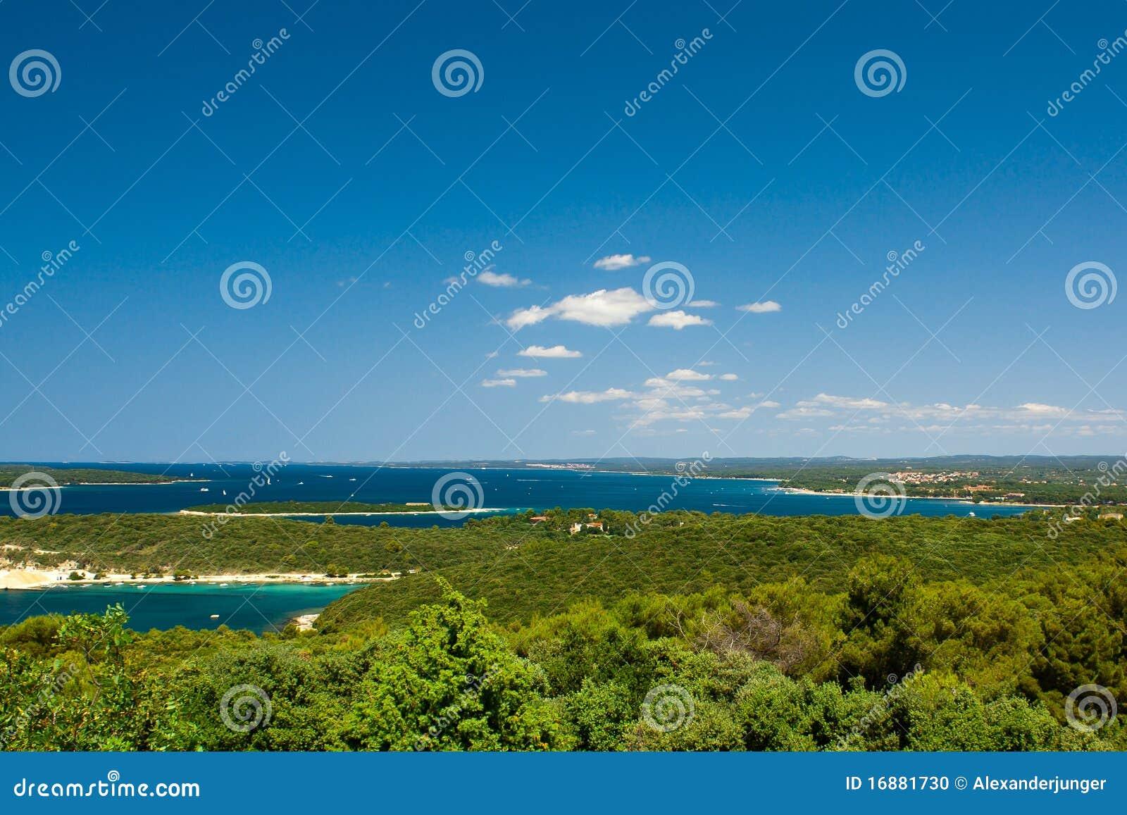 Kroatischer Riviera