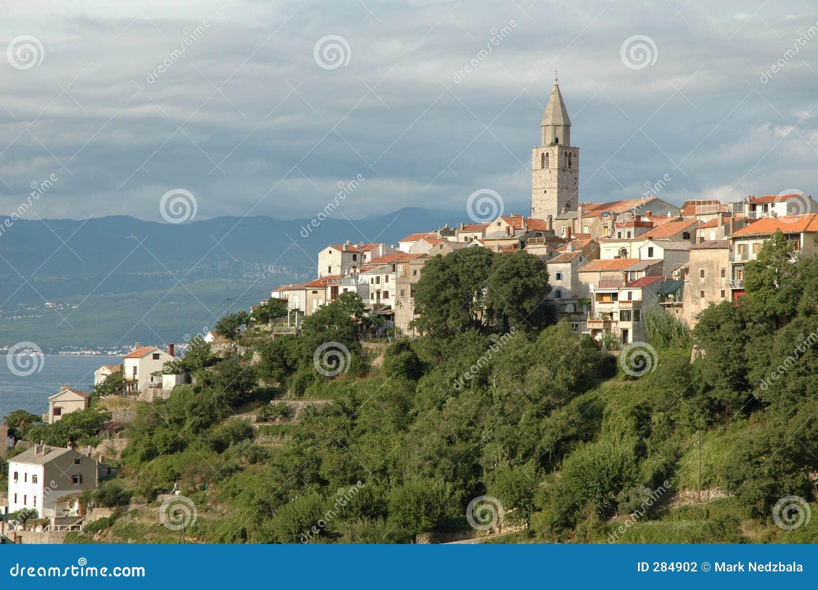 Kroatisk hilltown