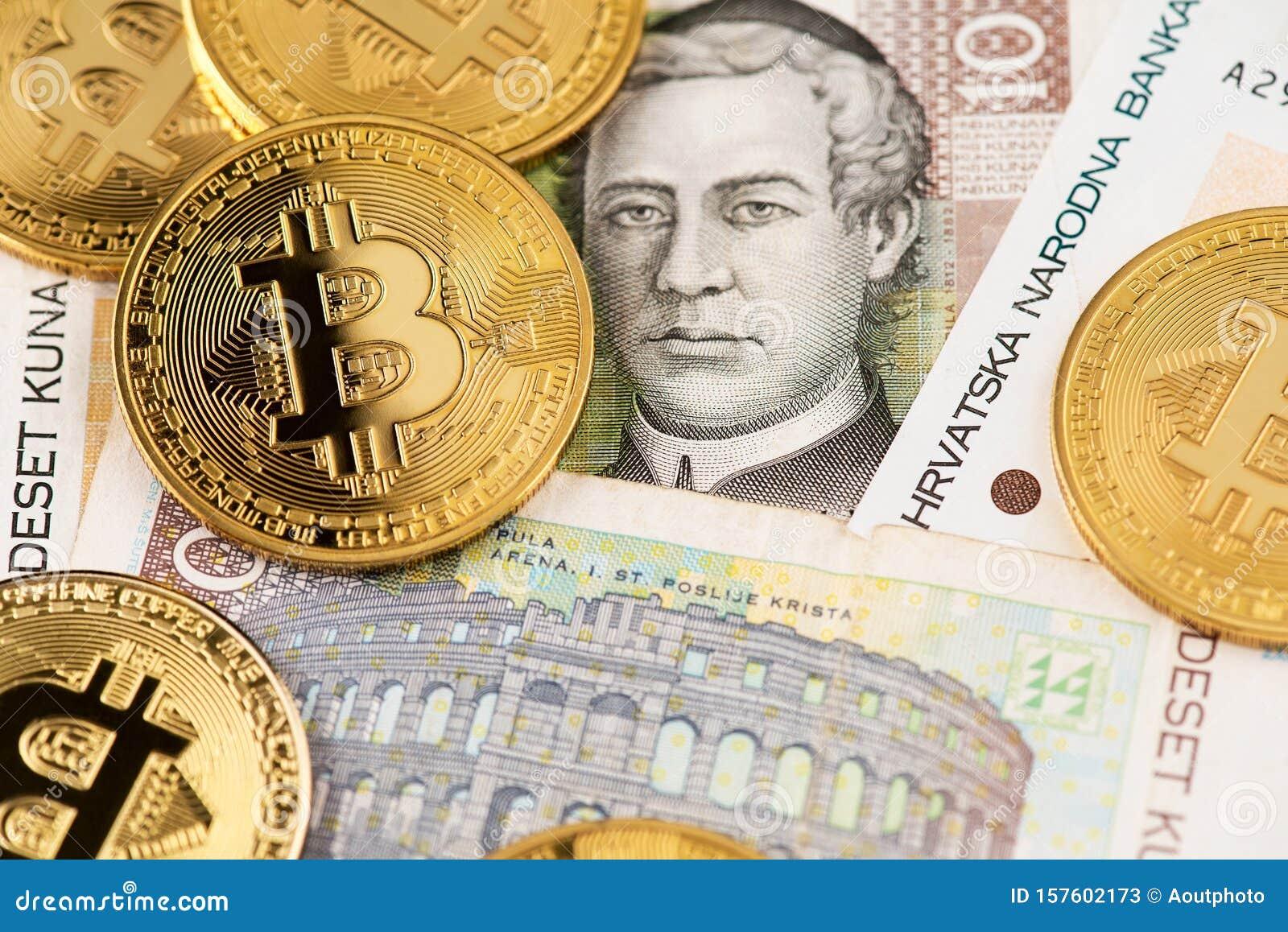 bitcoin į kuną