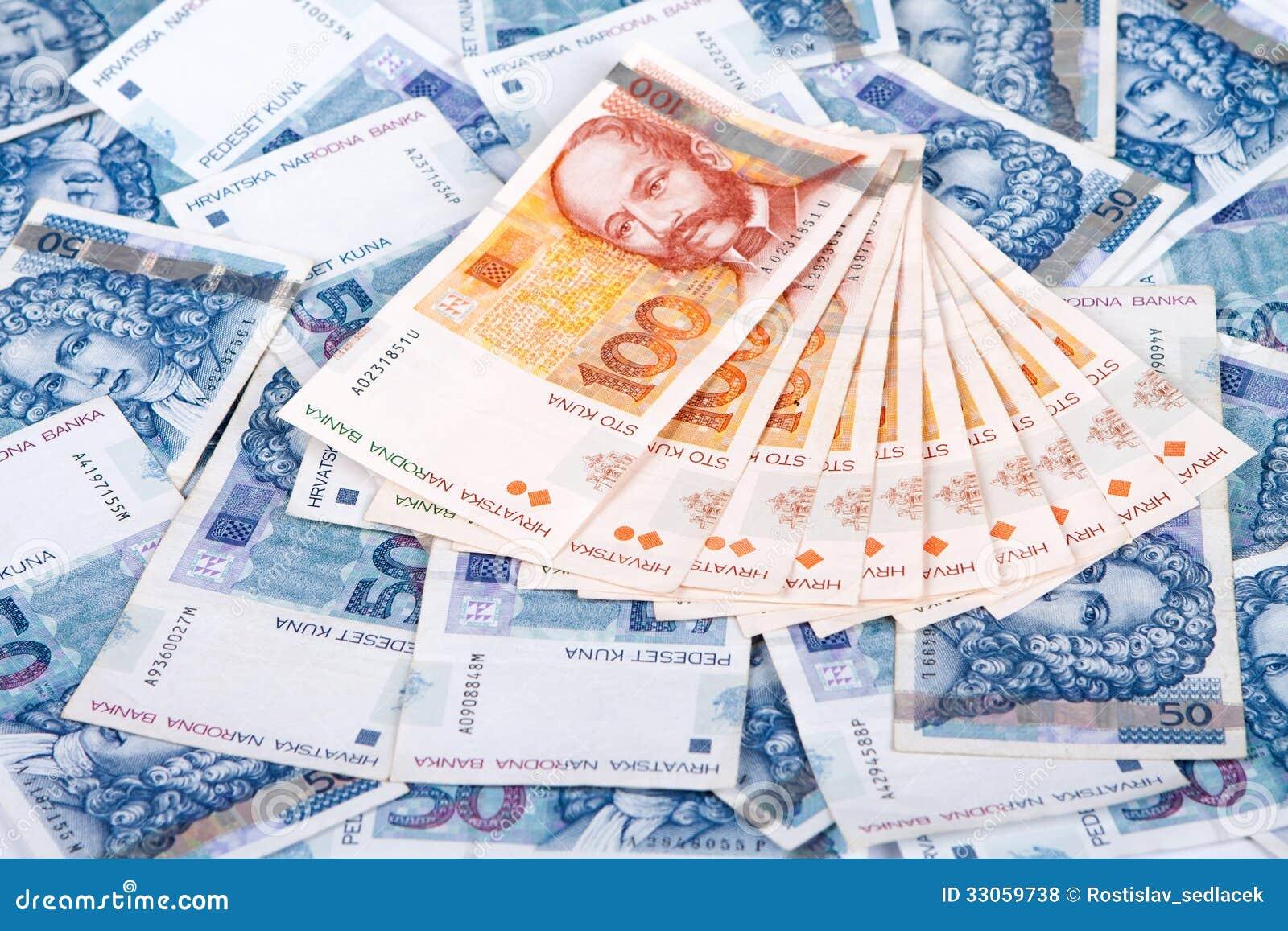 pengar i kroatien