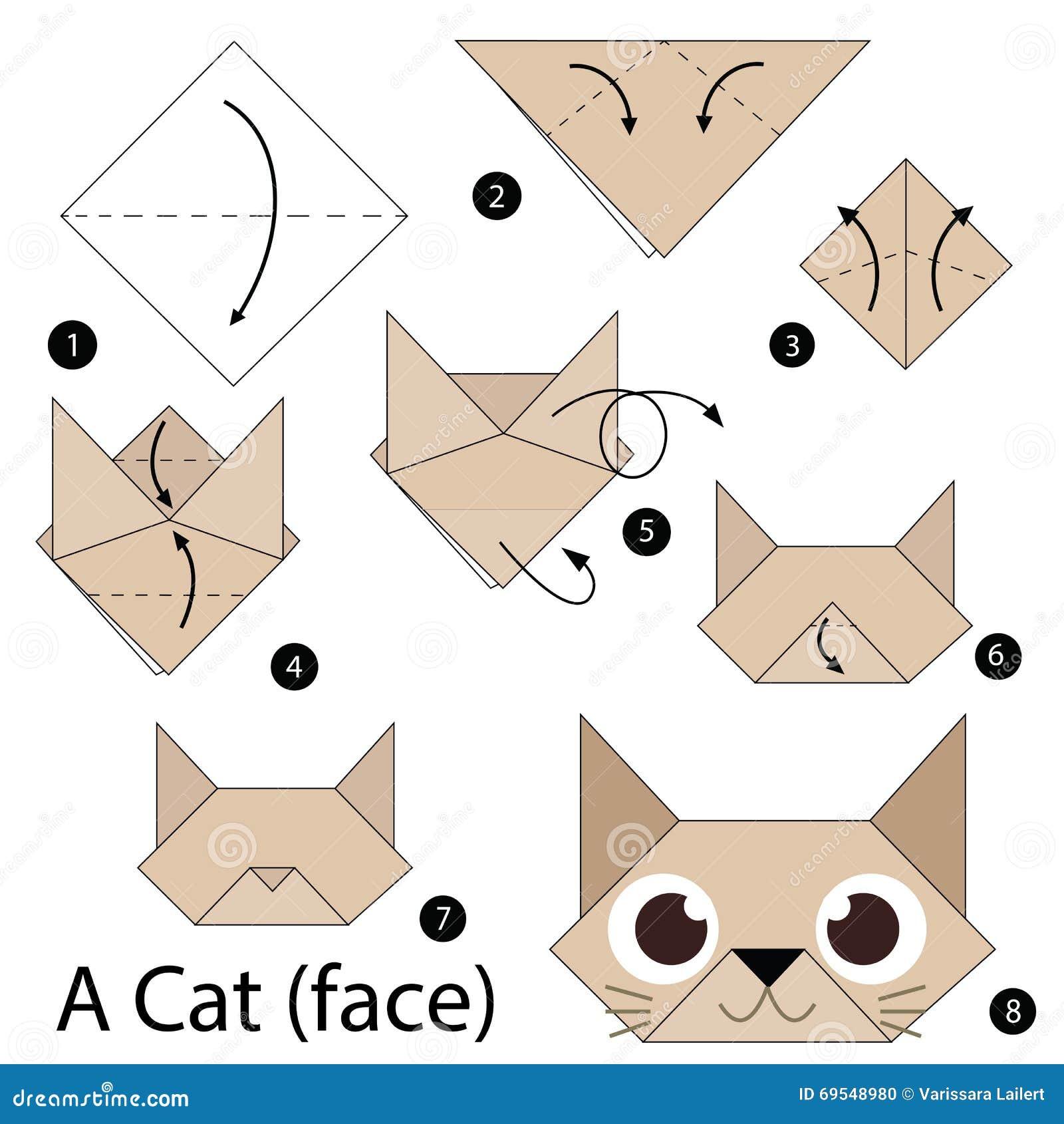 Origami Dla Dzieci Kotek