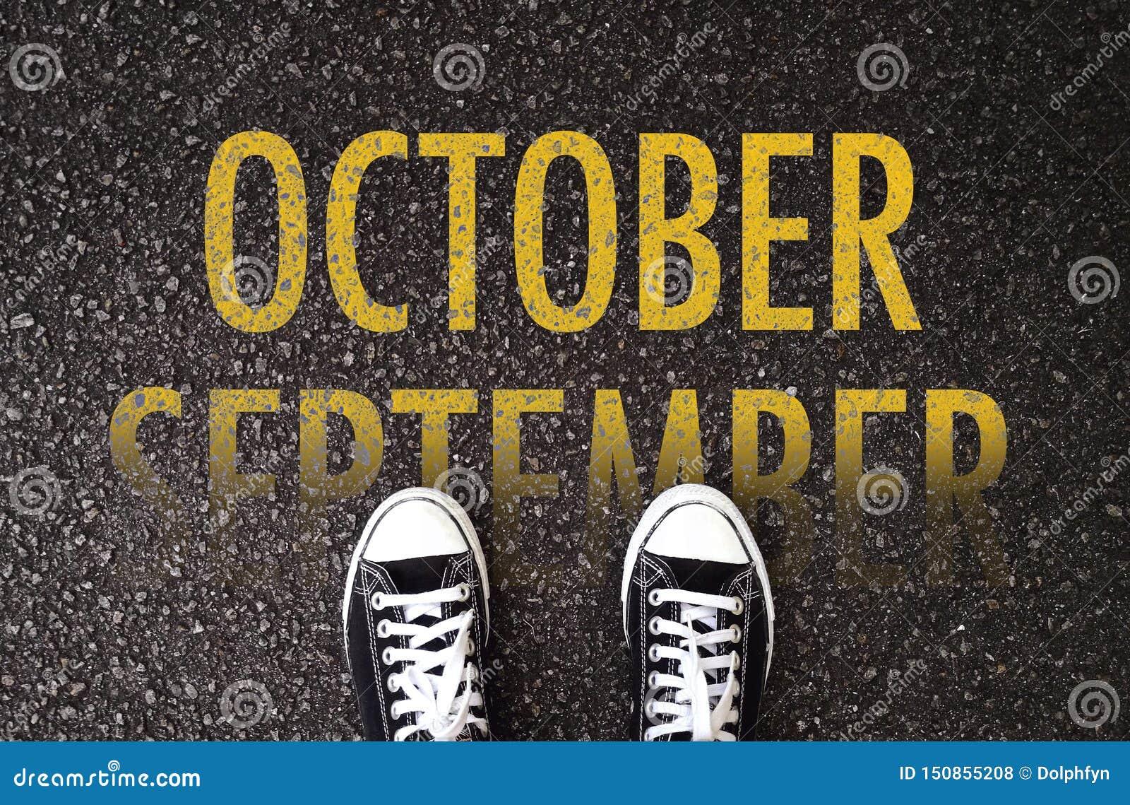 Kroki do przodu Październik na drodze