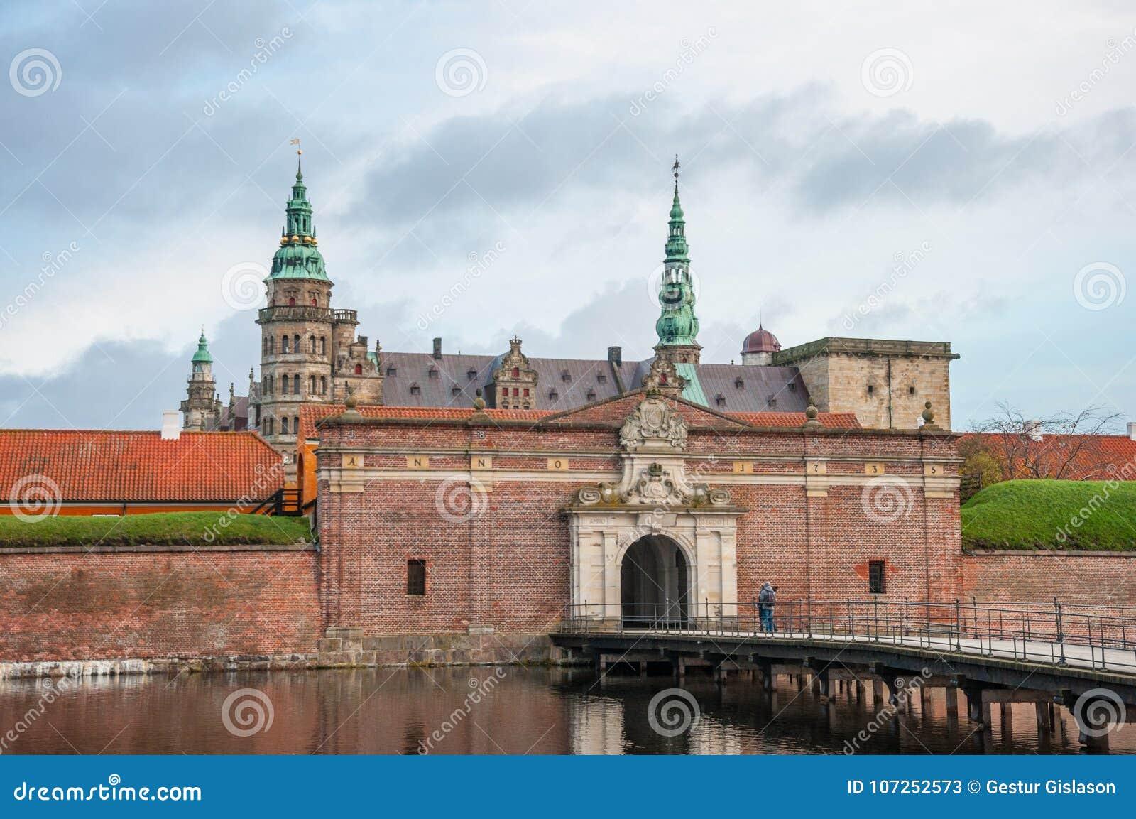 Kronborg kasztel w Dani