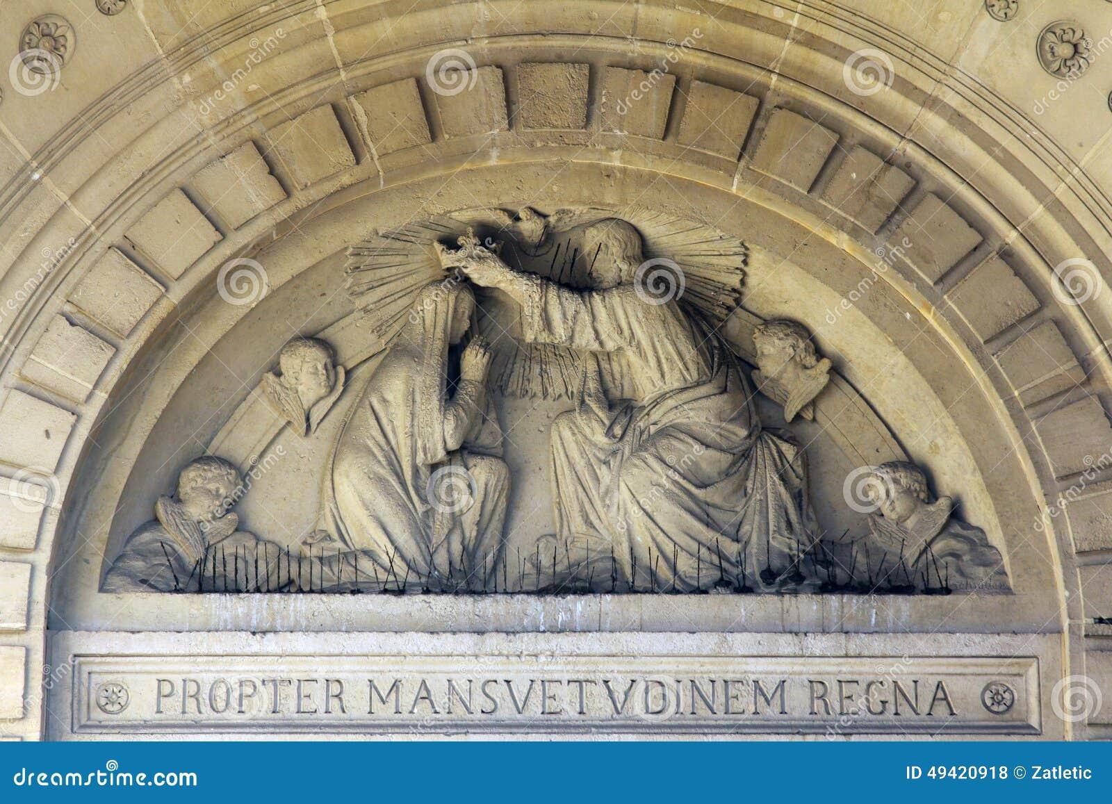 Kroning van Heilige Maagdelijke Mary