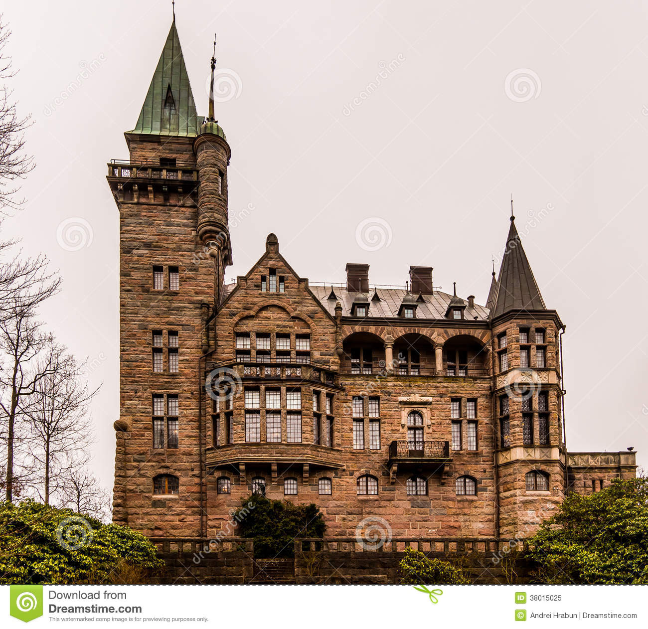 Kronobergs Castle Stock Image Image Of Ancient Peak 38015025