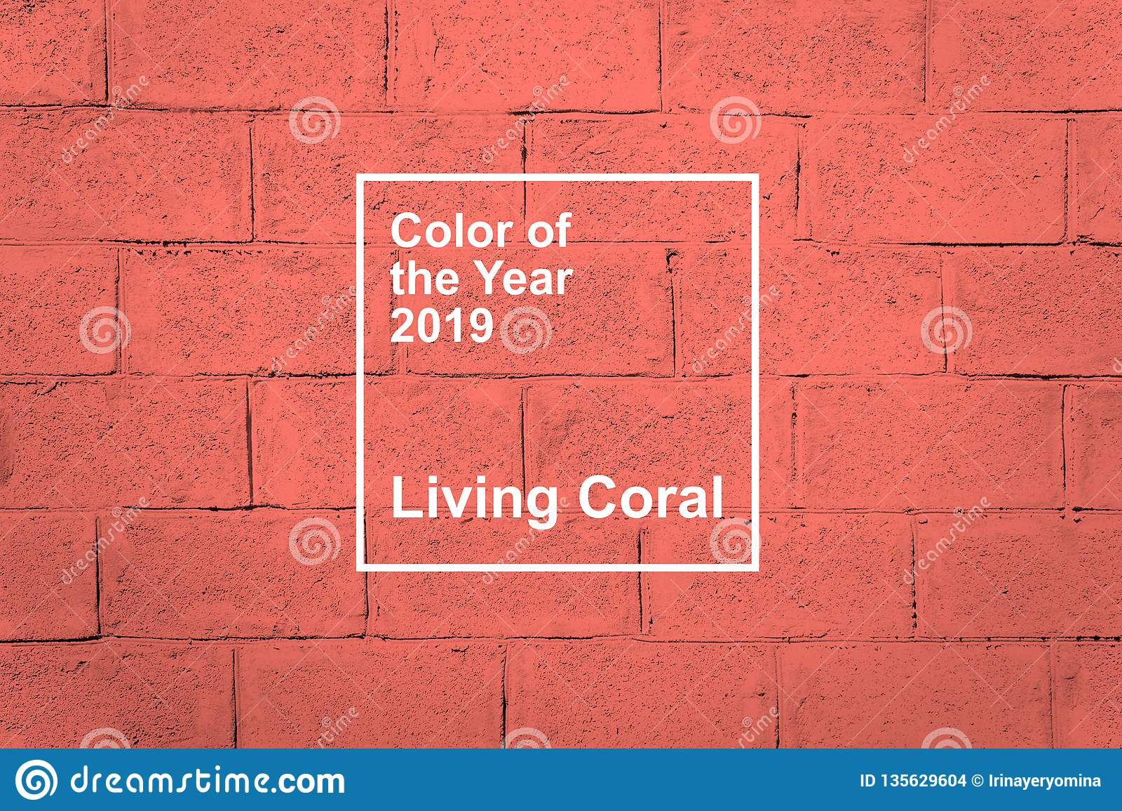 KROPIVNITSKIY, UKRAINE – 06 December, 2018: Living Coral, Pantone color of the year 2019 fabric textile background. Living