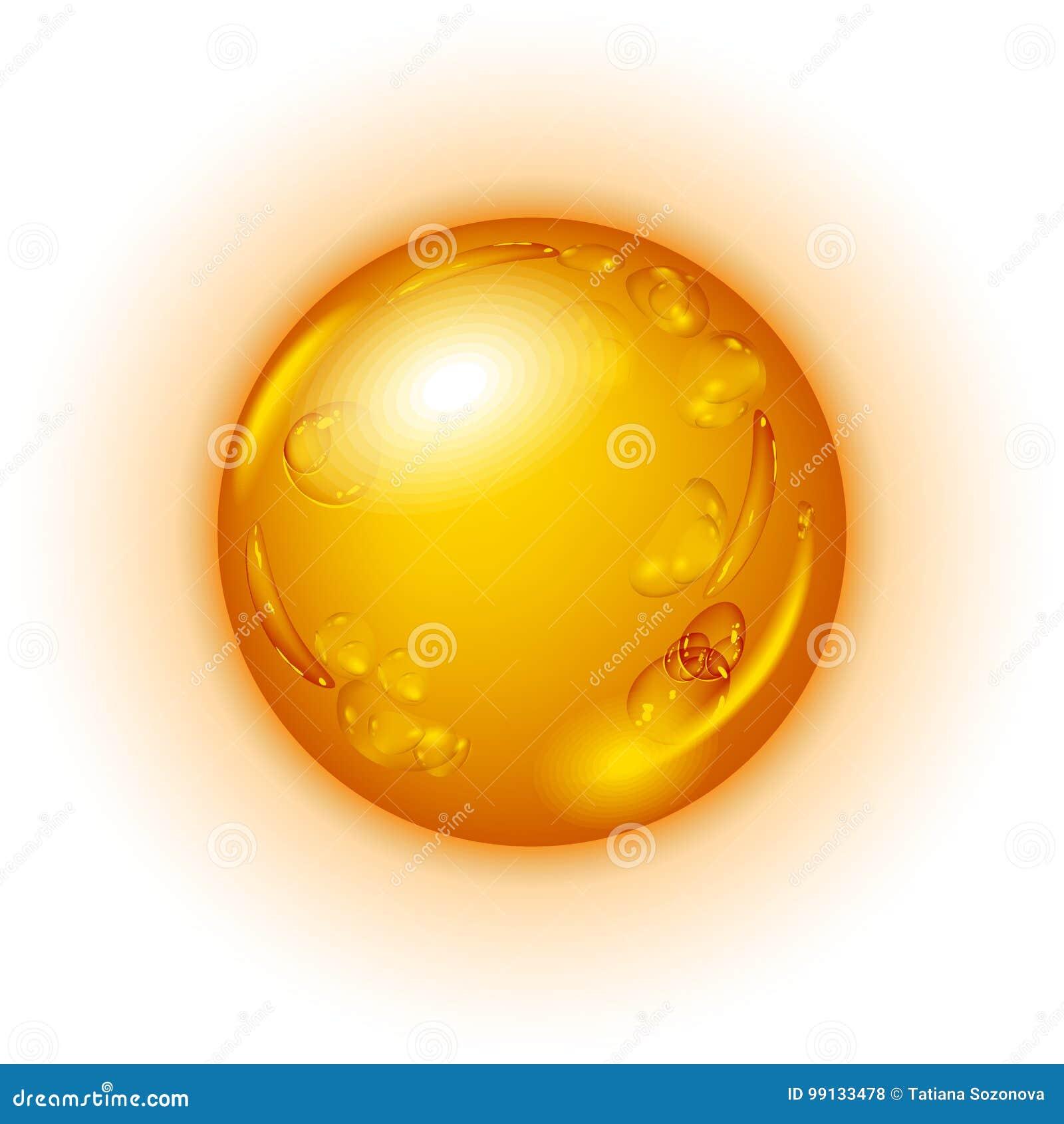 Kropla olej lub miód