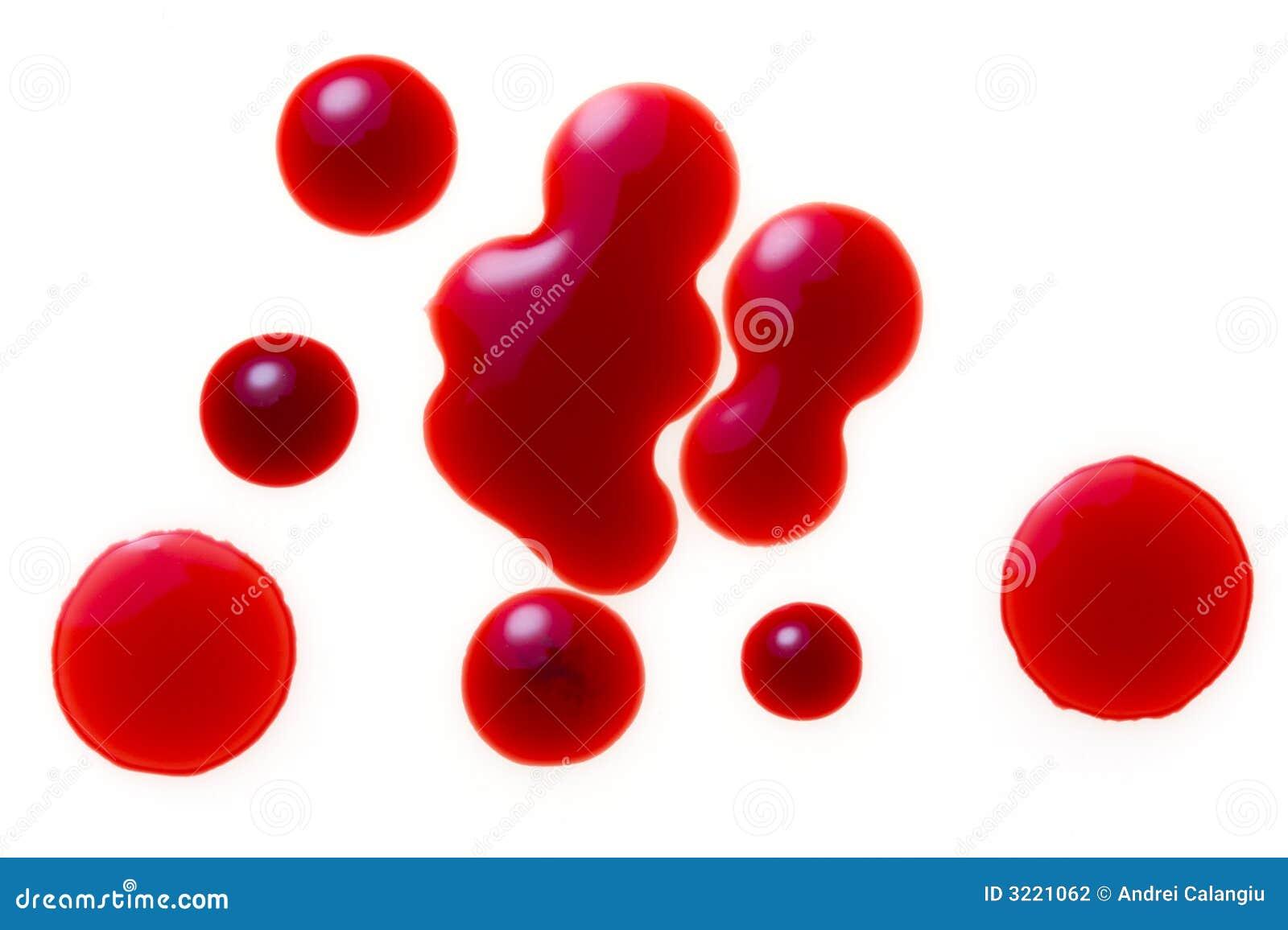 Krople krwi