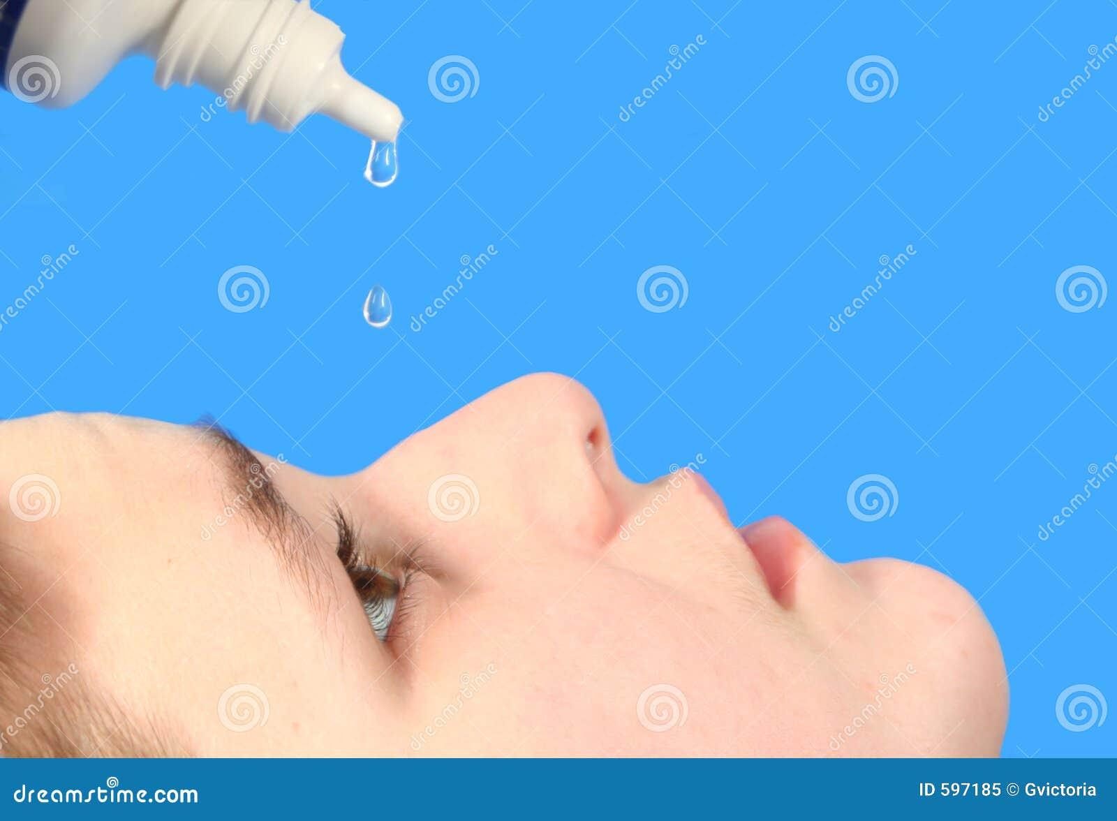 Krople oko