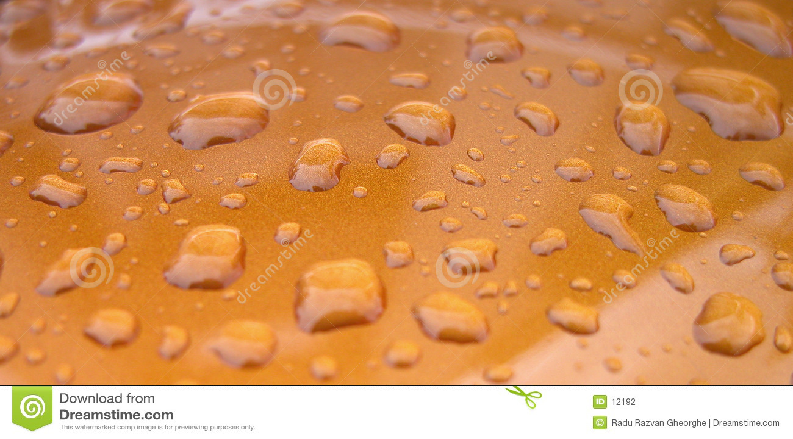 Krople wody tekstury