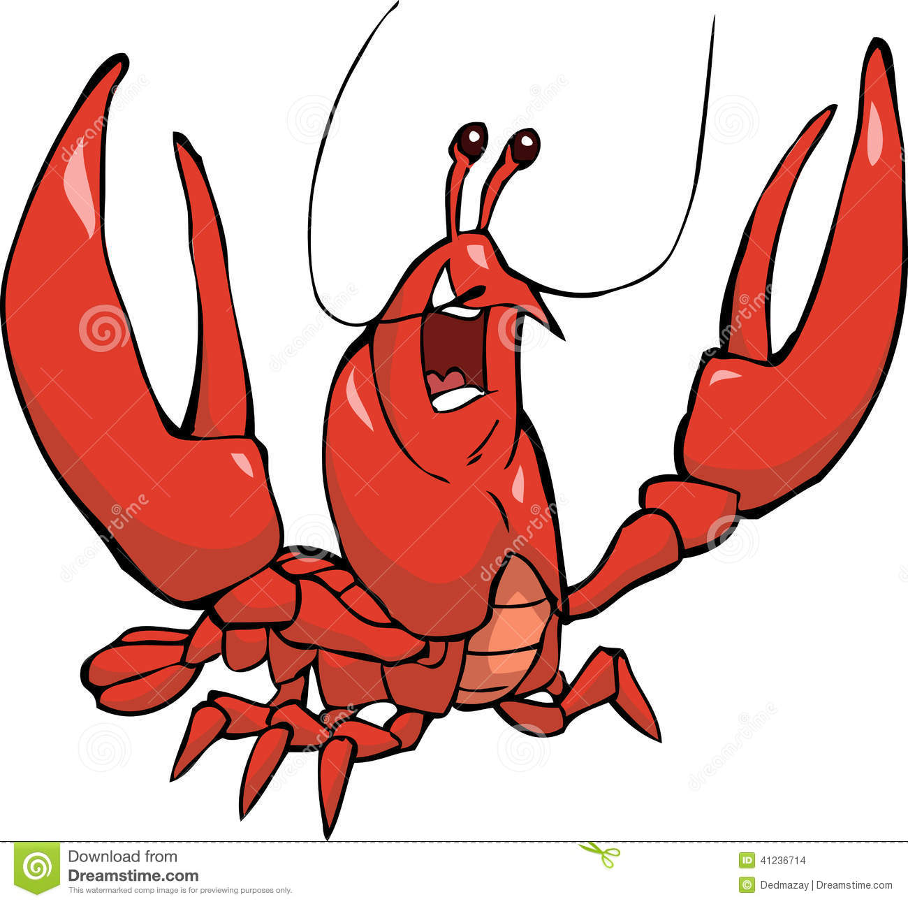 kr u00e4fta vektor illustrationer illustration av gulligt crawfish clip art images crawfish clipart pictures