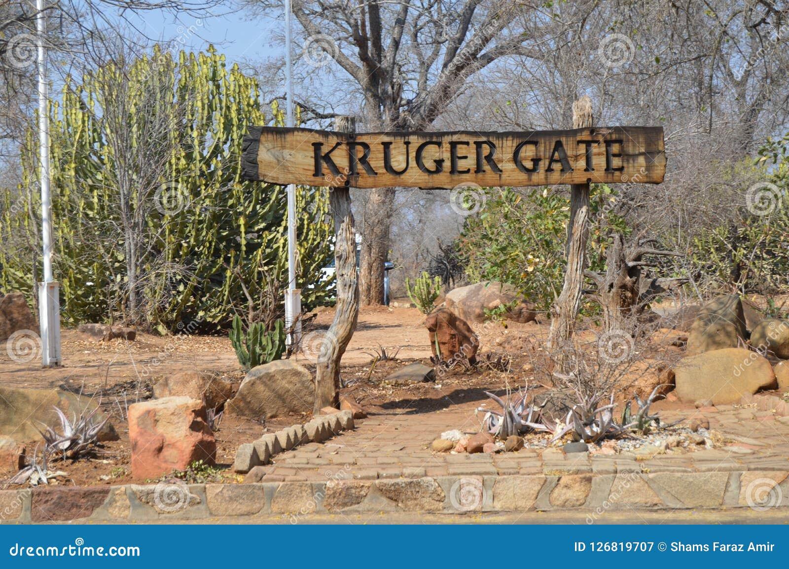 Kruger port, Paul krugerport i den Kruger nationalparken