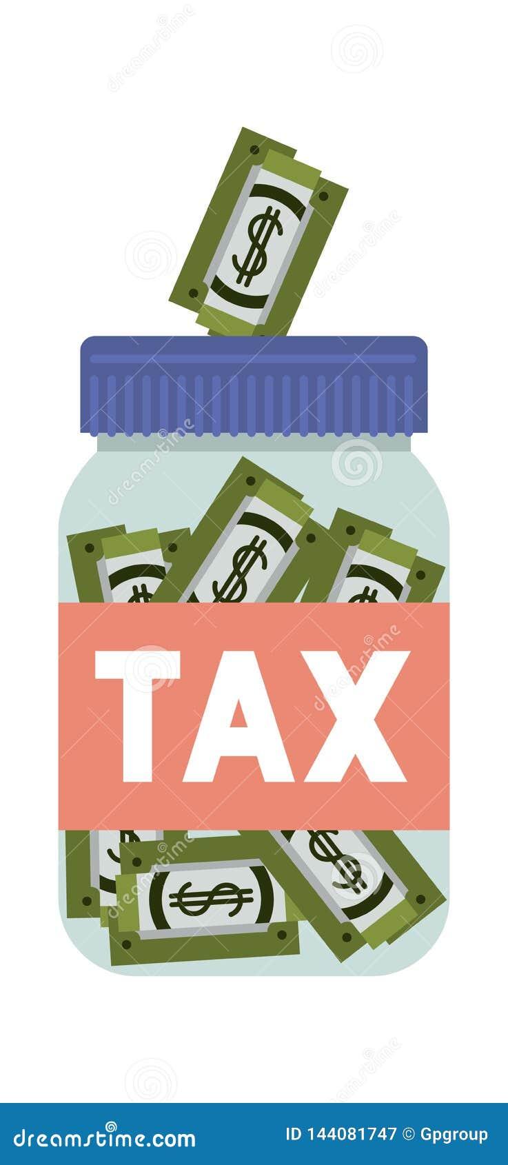 Kruikbelastingen met rekeningen