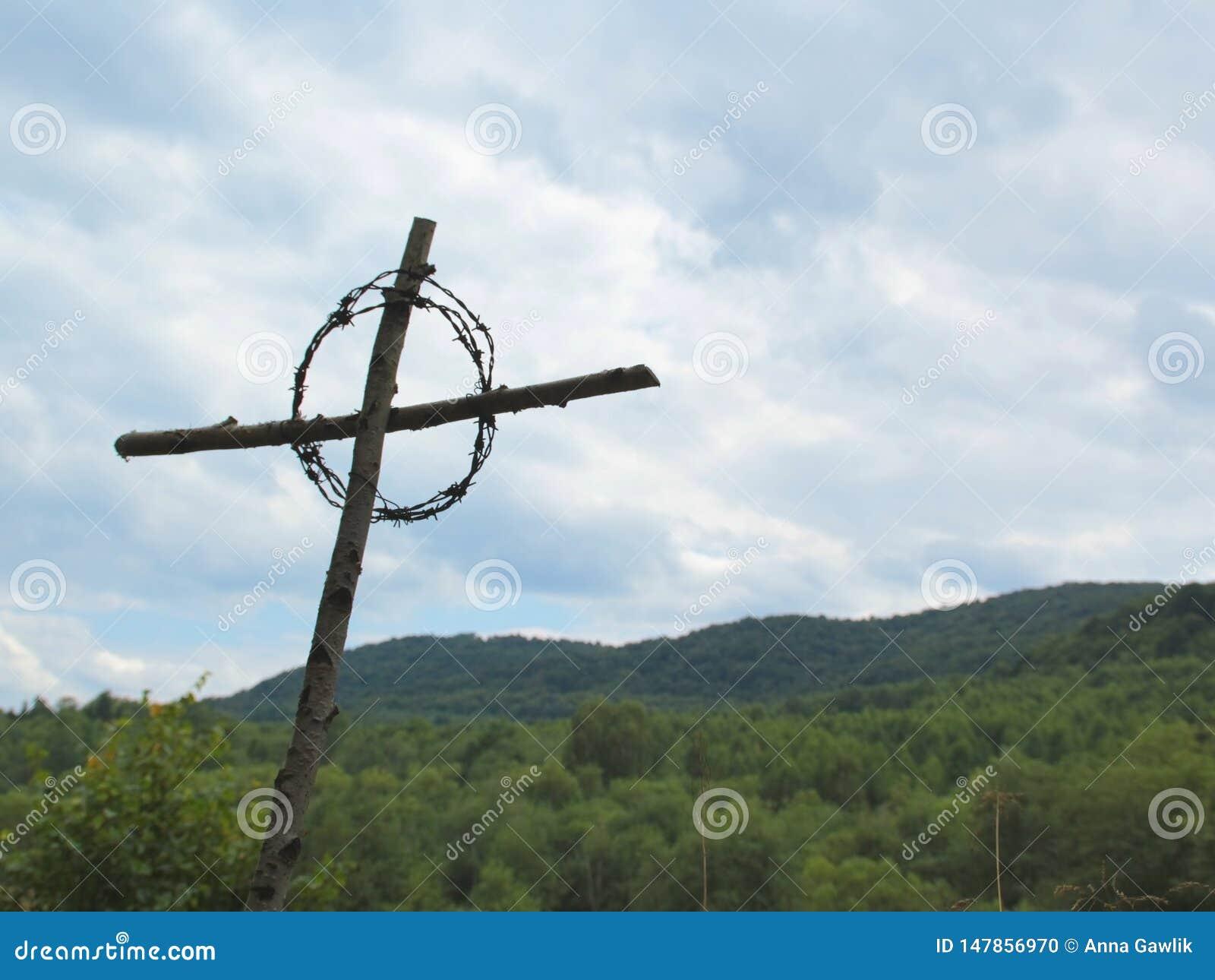 Kruis in de bergen
