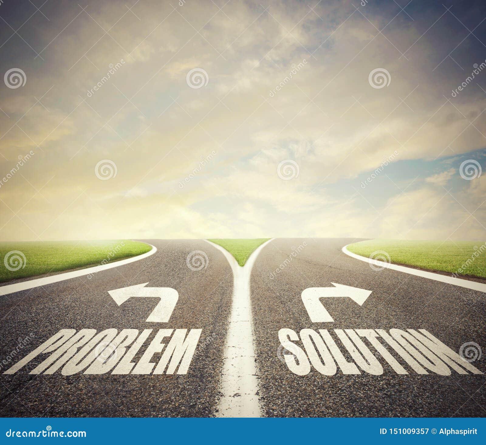 Kruispunten met probleem en oplossingsmanier Concept juist besluit