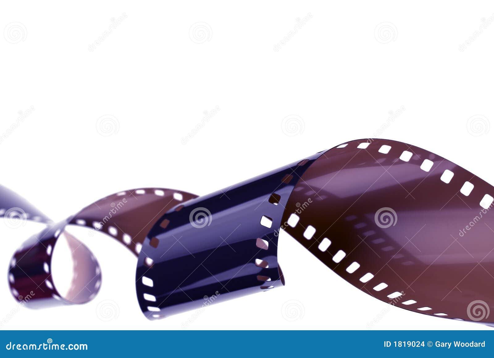 Krullande filmstrip