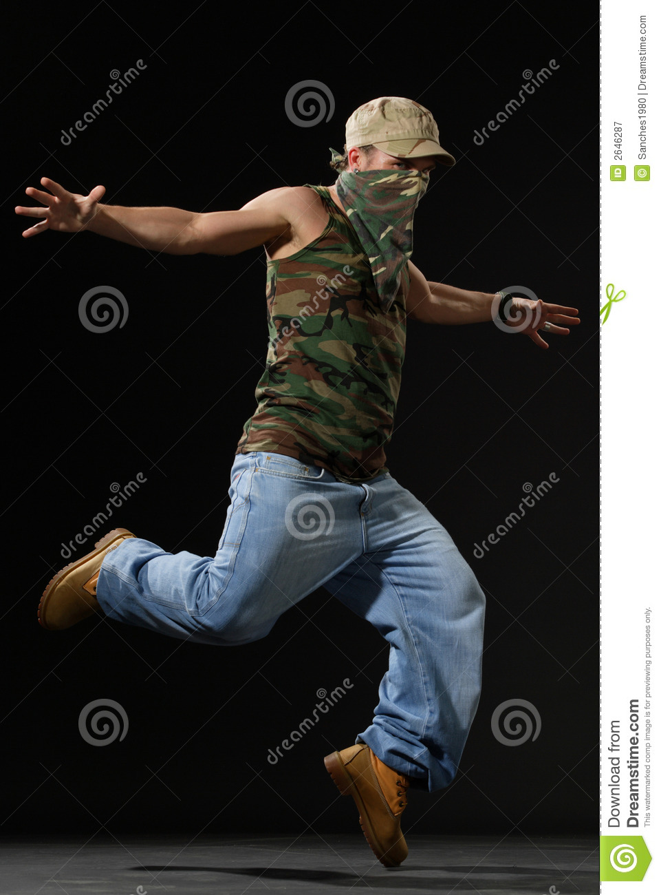 The Krump Dancer Royalty Free Stock Photography - Image: 2646287