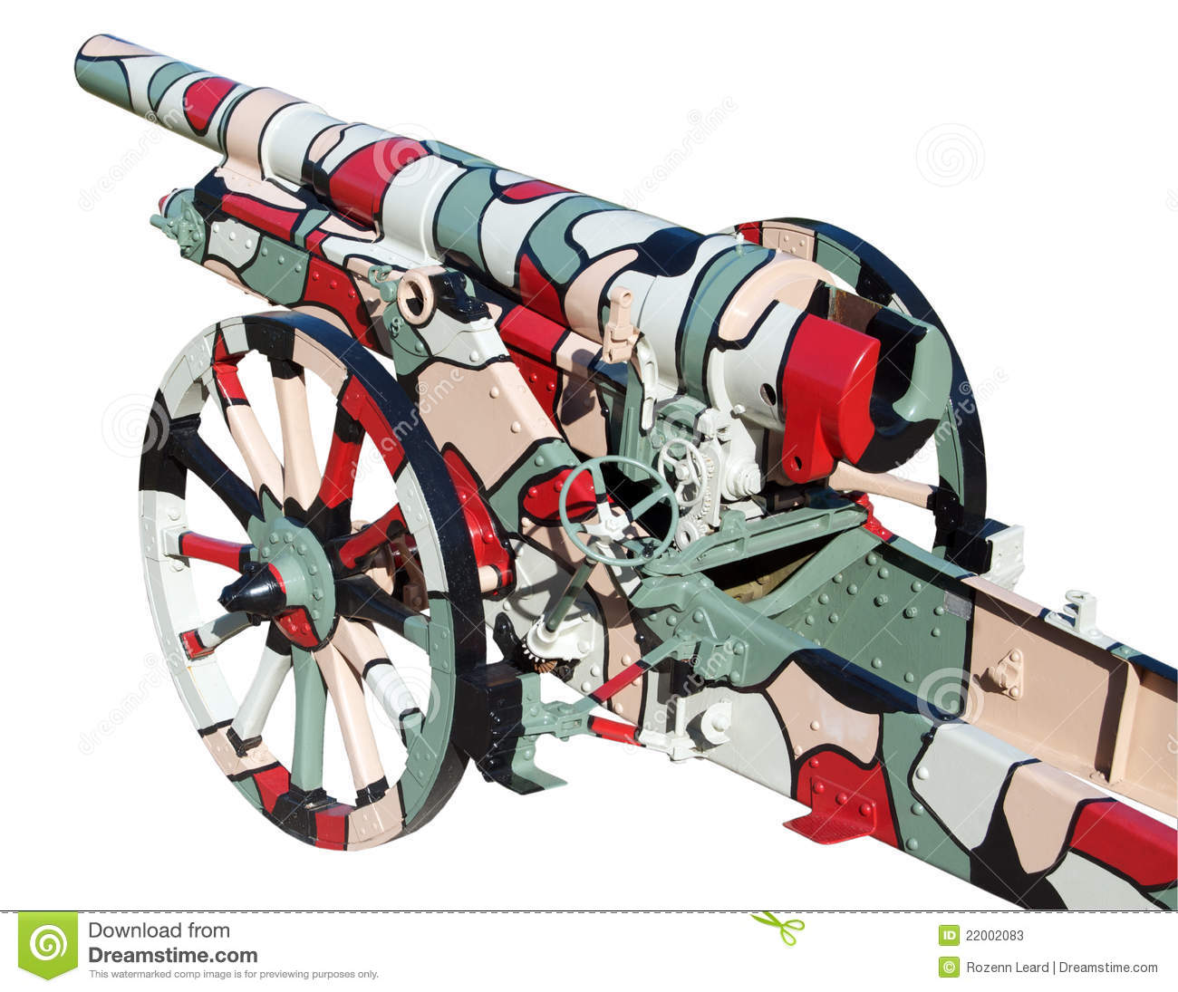 krupp 105 field gun stock photos image 22002083 clip art canning fair clipart cannonball falls out of the canon