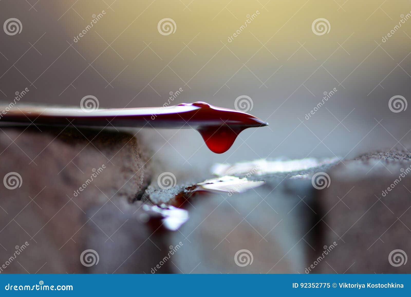 Krwionośna ścinku kropla zawierać ścieżka