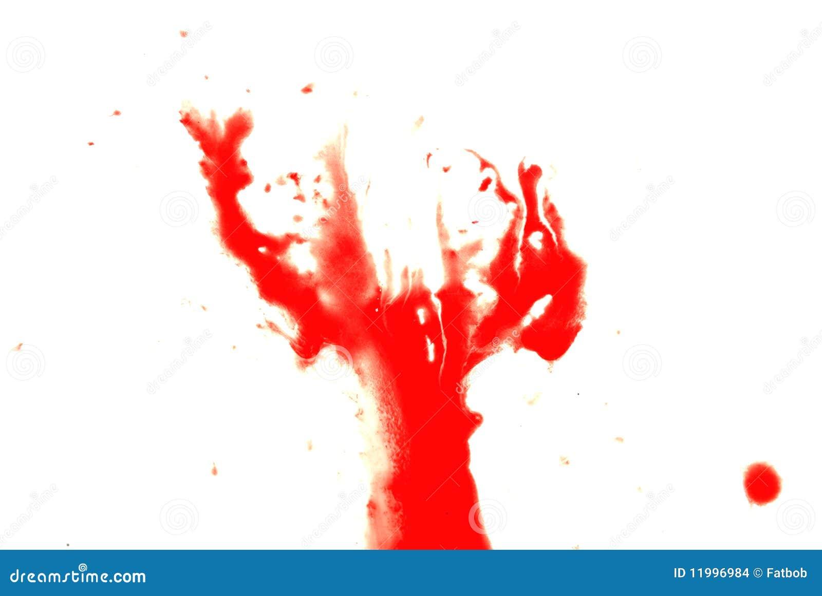Krwionośny czerwony pluśnięcie