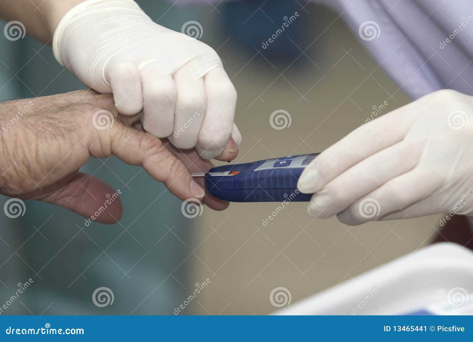 Krwionośny opieki cukrzyc zdrowie lab medycyny test