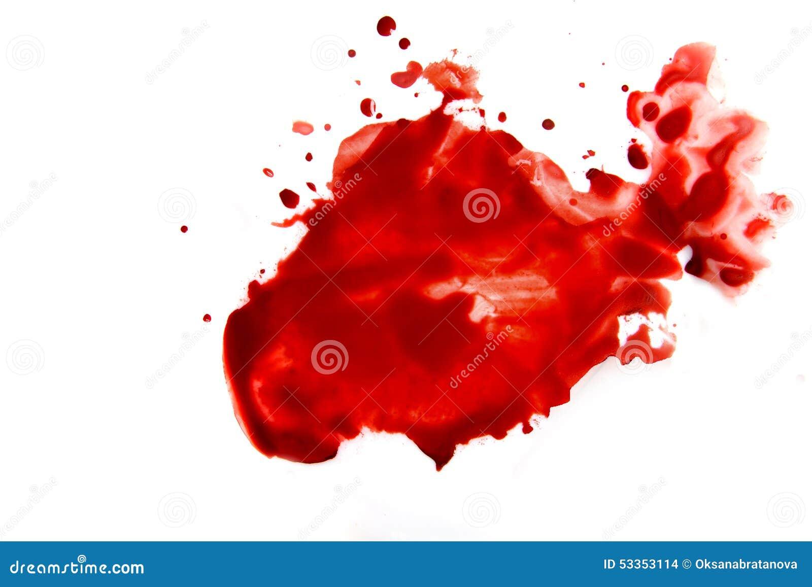 Krwionośny rozmazu splatter