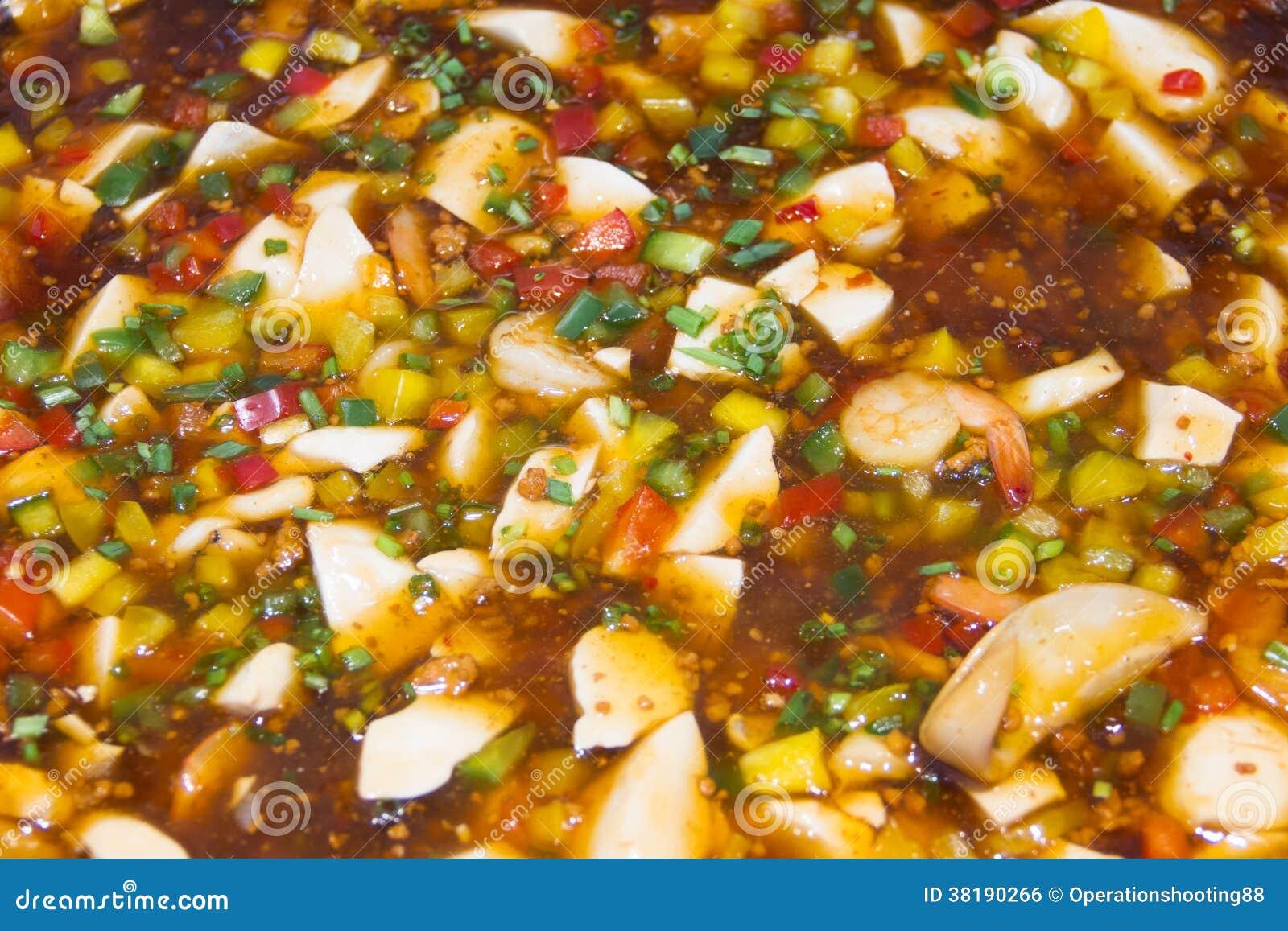 Kryddig sås för Tofu