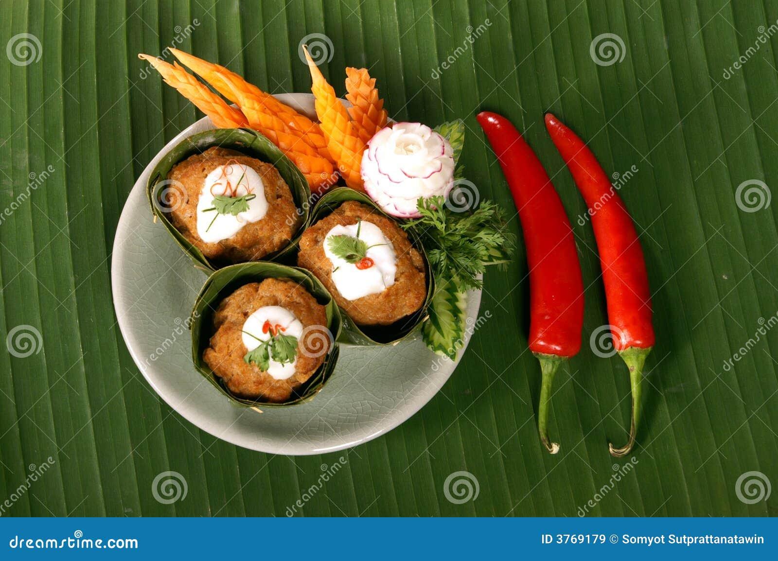 Kryddigt thai för mat