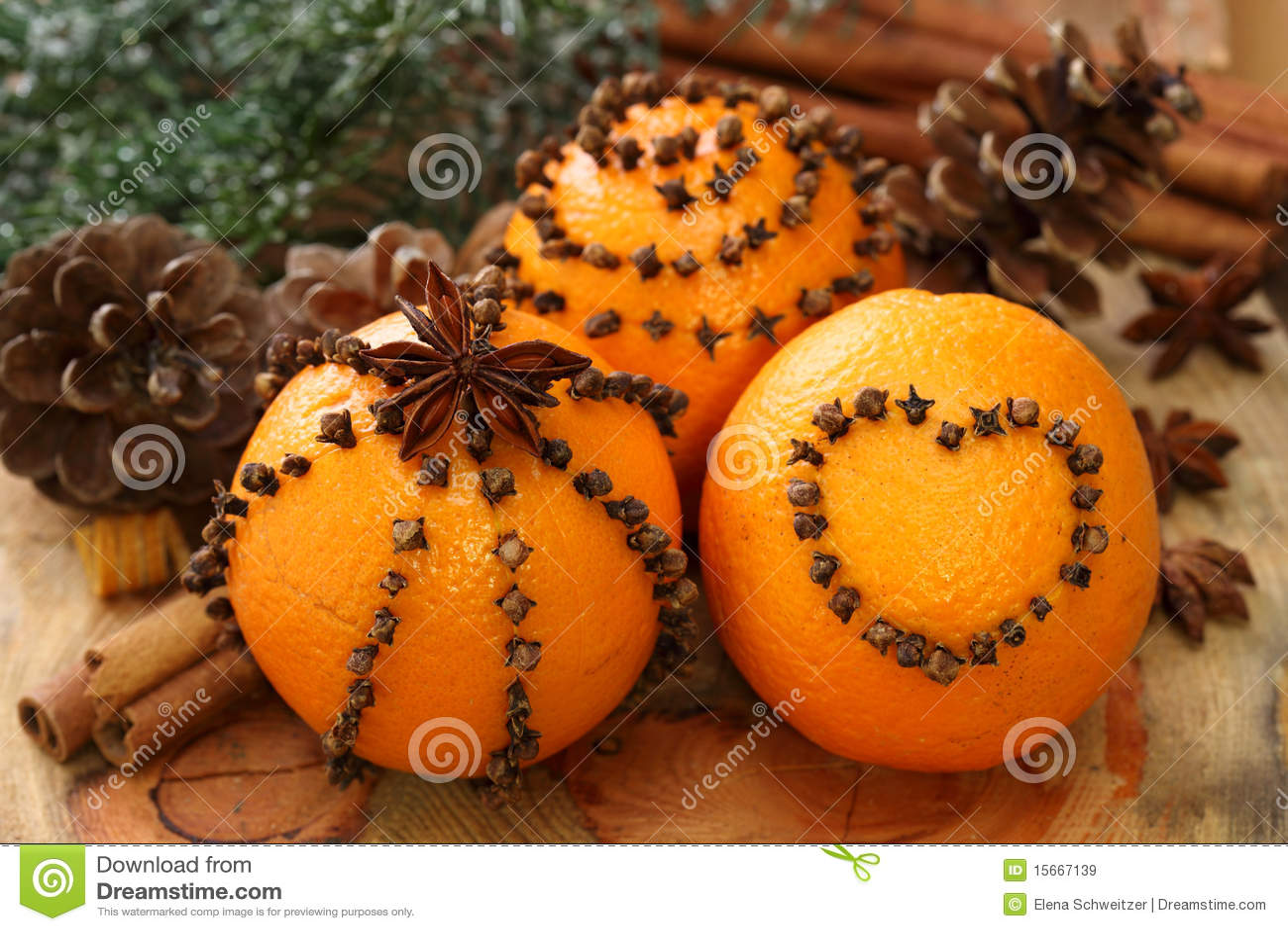Kryddnejlikaapelsiner