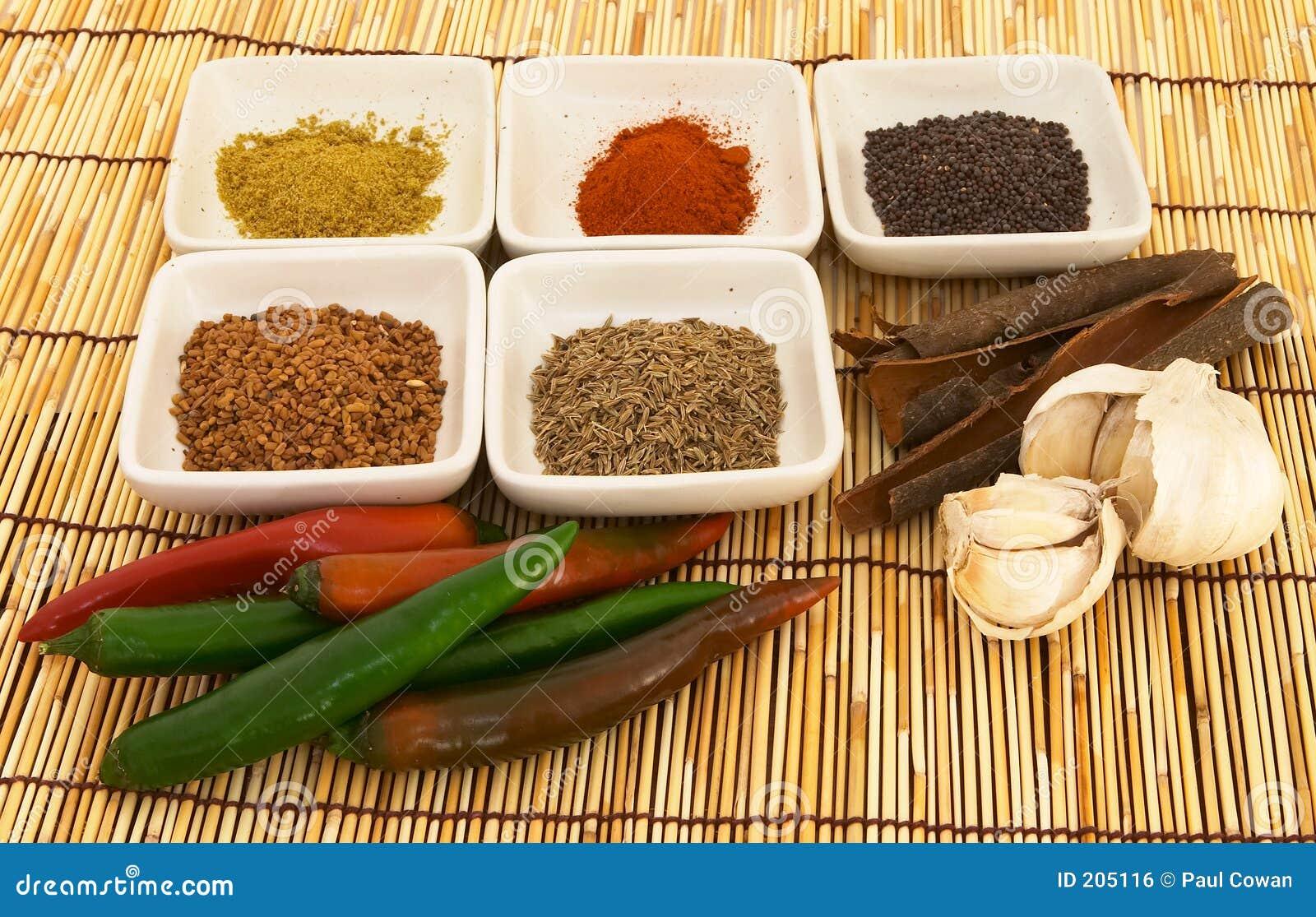 Kryddor för 1 curry