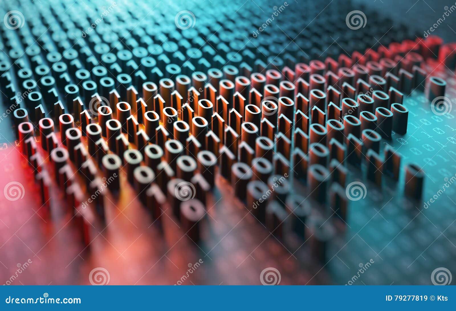 Kryptering för binär kod