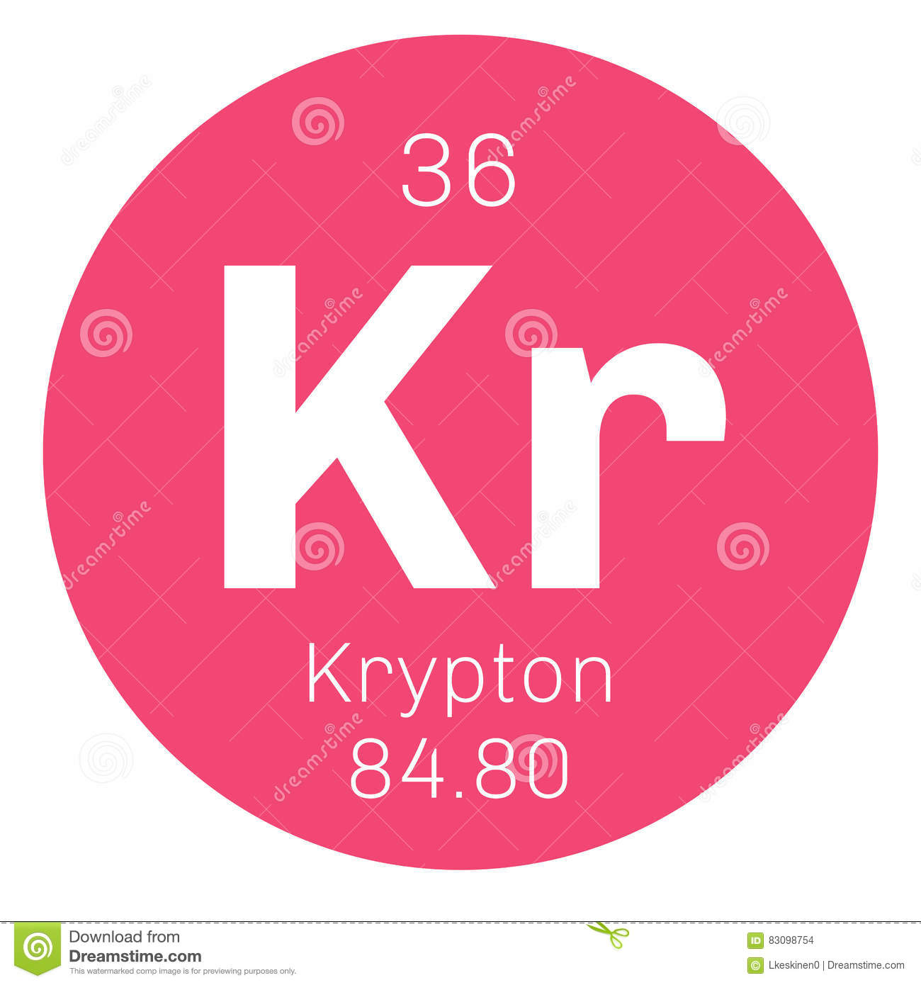 Krypton chemical symbol image collections symbol and sign ideas krypton chemical element stock vector image of design 83098754 krypton chemical element buycottarizona buycottarizona