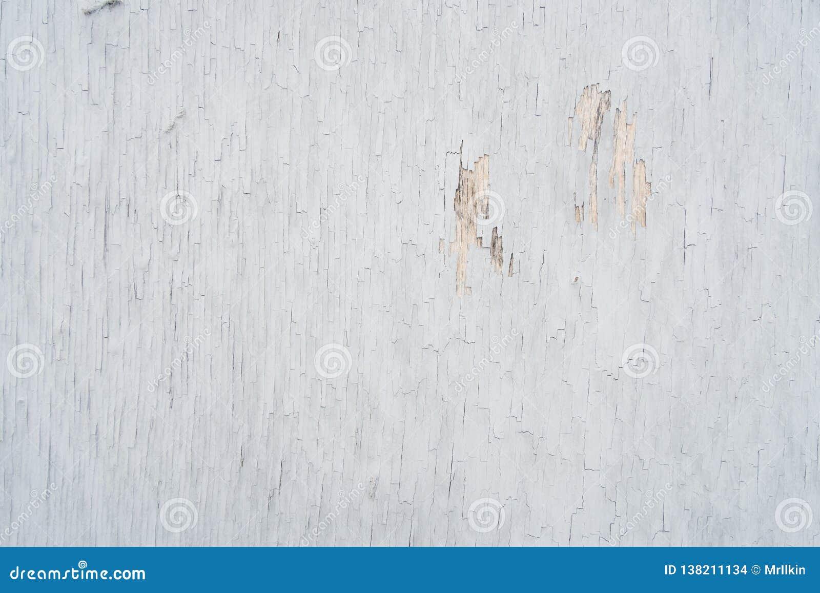 Kryssfaner som täckas med gammal skalande målarfärg, för bakgrund eller textur
