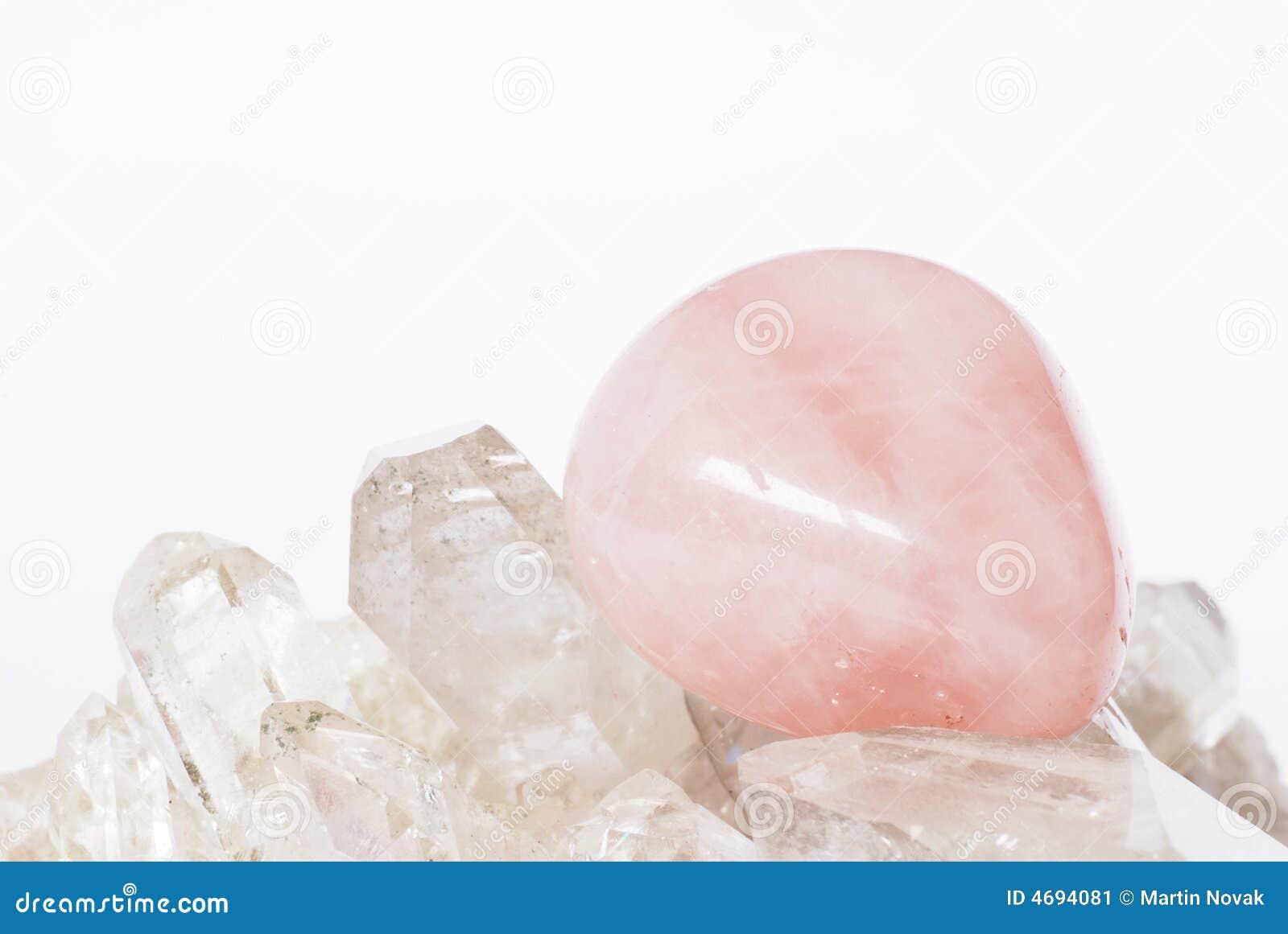 Kryształ kwarcu rose