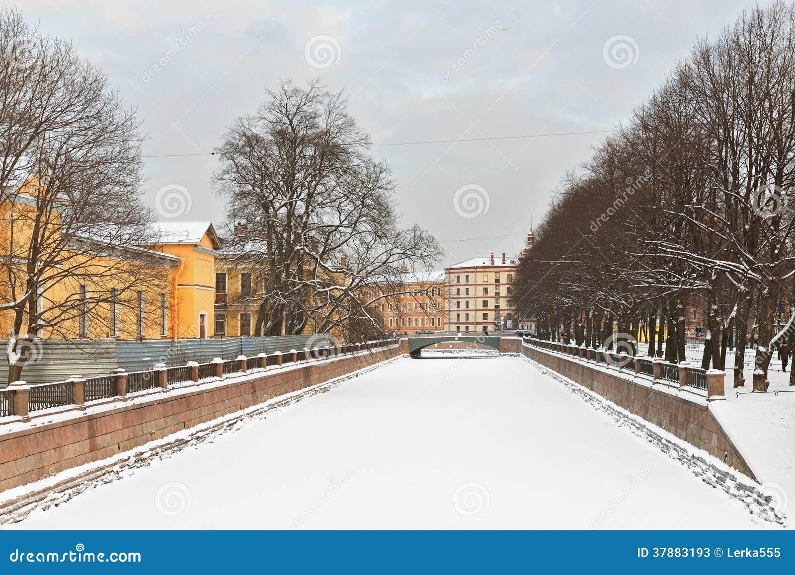 Kryukovkanaal, St. Petersburg, Rusland