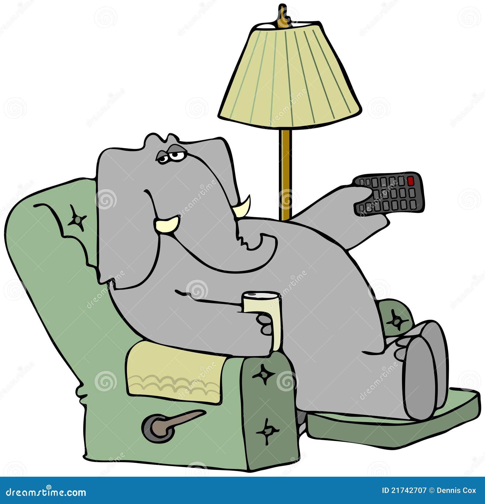Krzesła słonia pilot