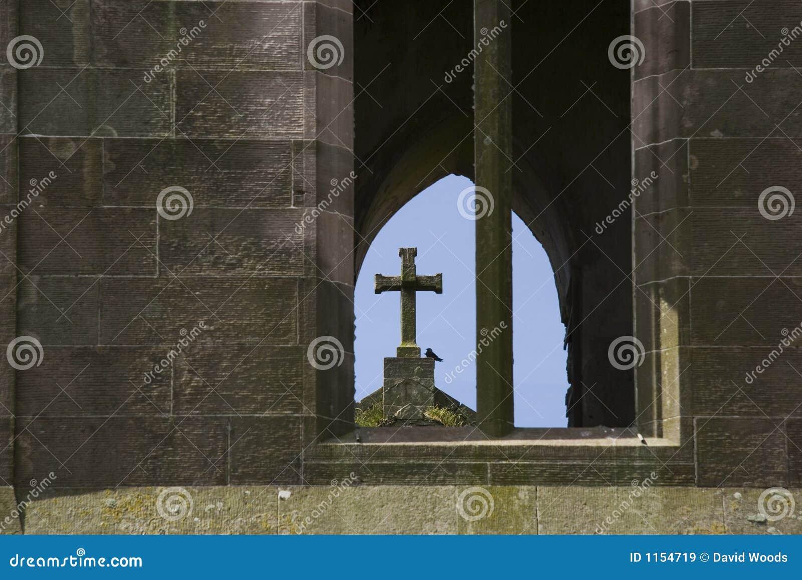 Krzyż zrujnowany