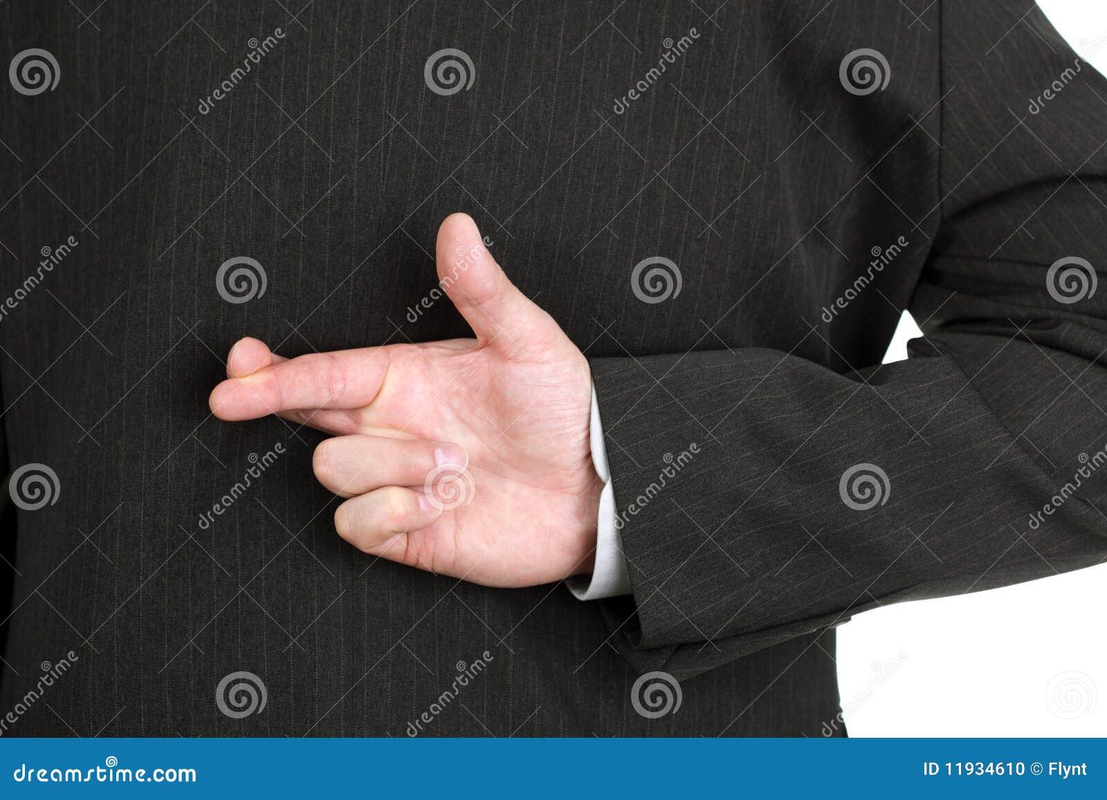 Krzyżujący palce