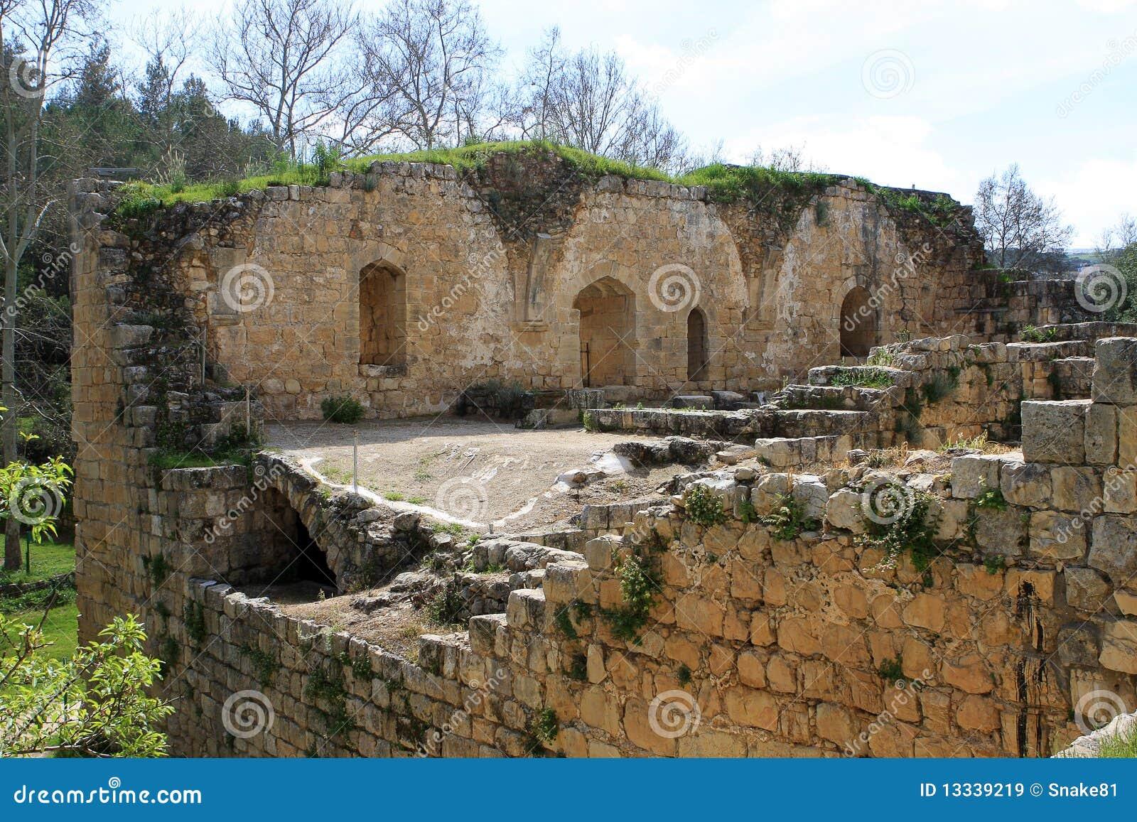 Krzyżowów fortecy ruiny