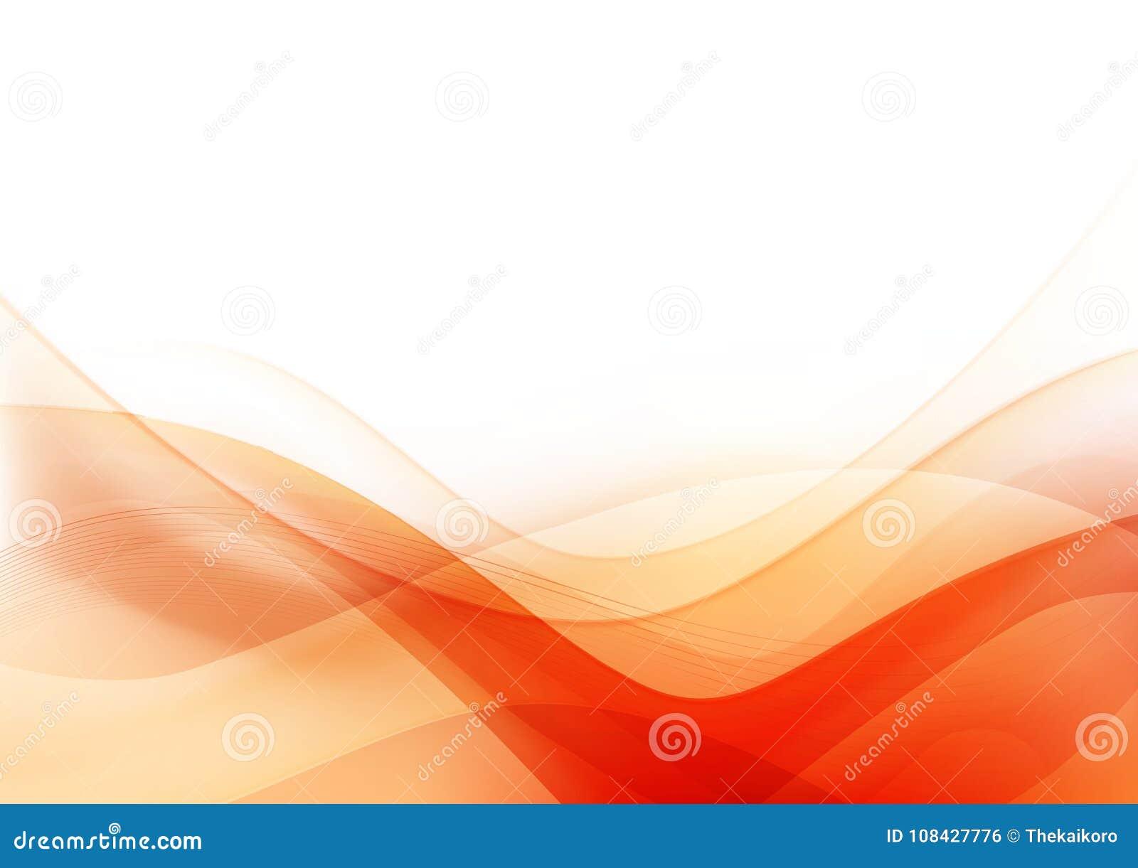 Krzywy i mieszanki światło - pomarańczowy abstrakcjonistyczny tło 003