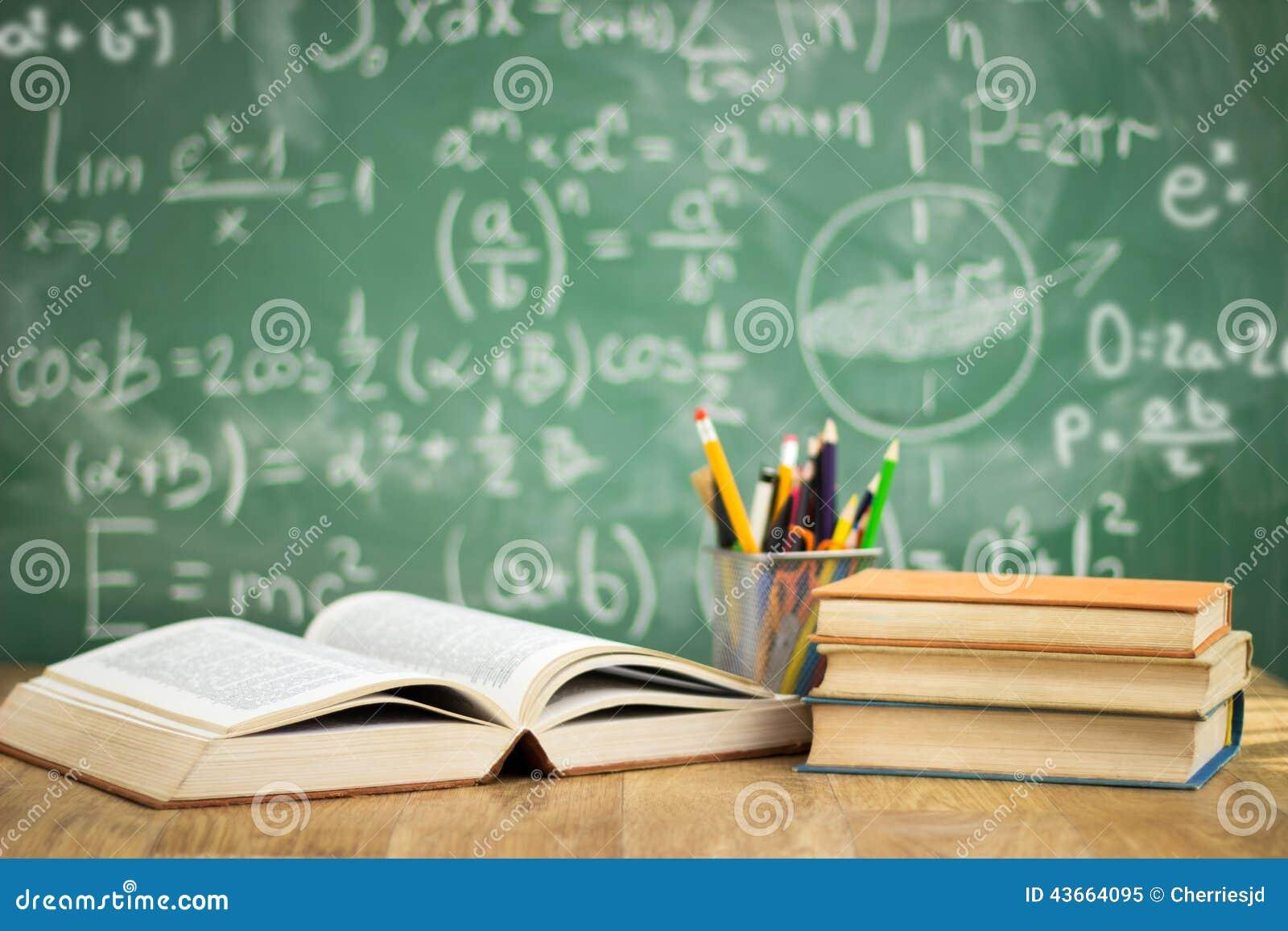 Książek biurka szkoła
