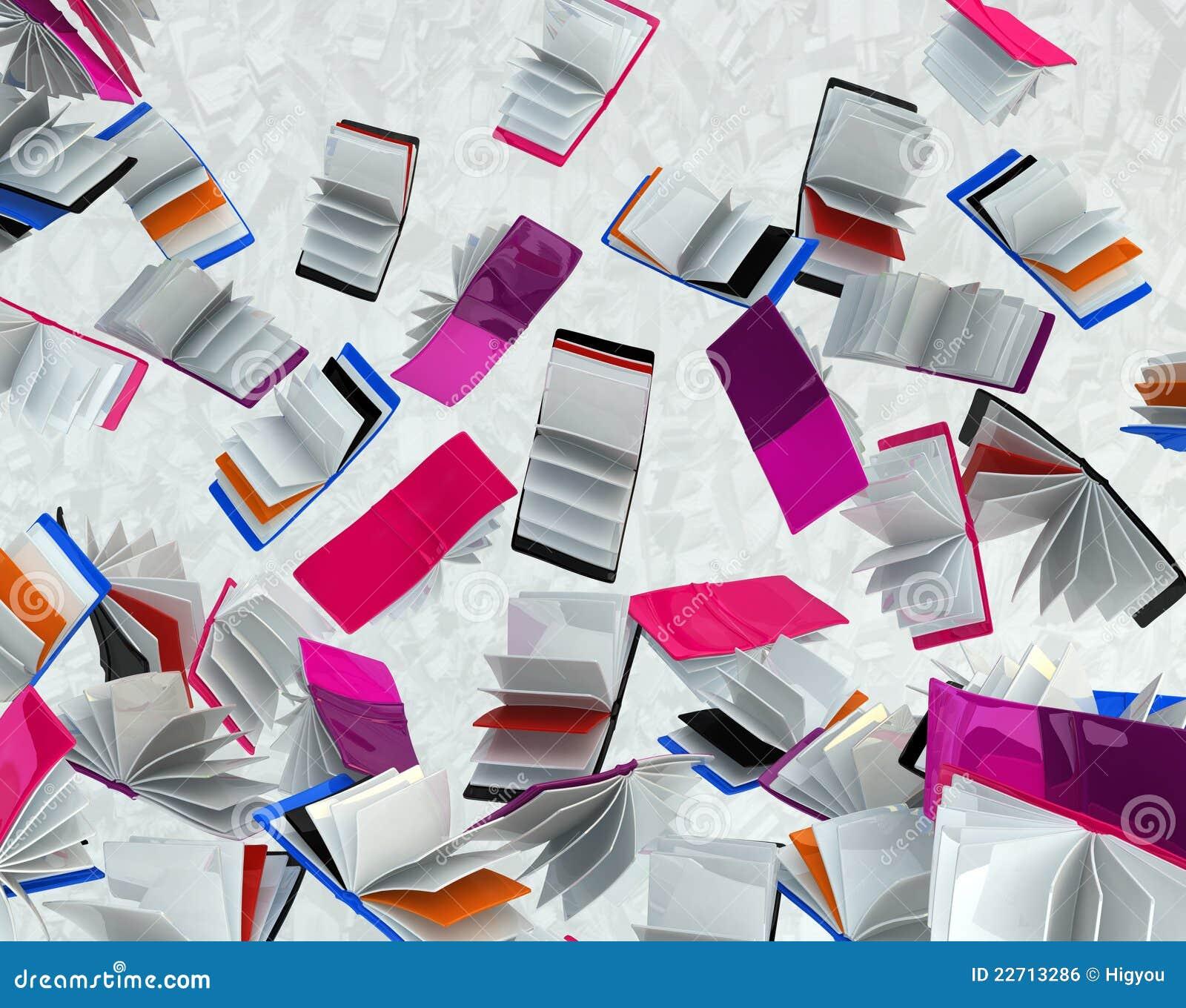 Książek spadać