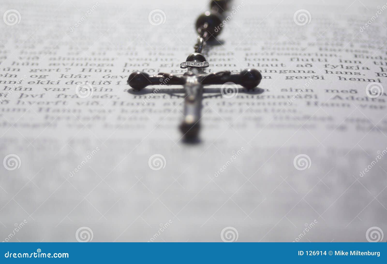 Książka krzyż